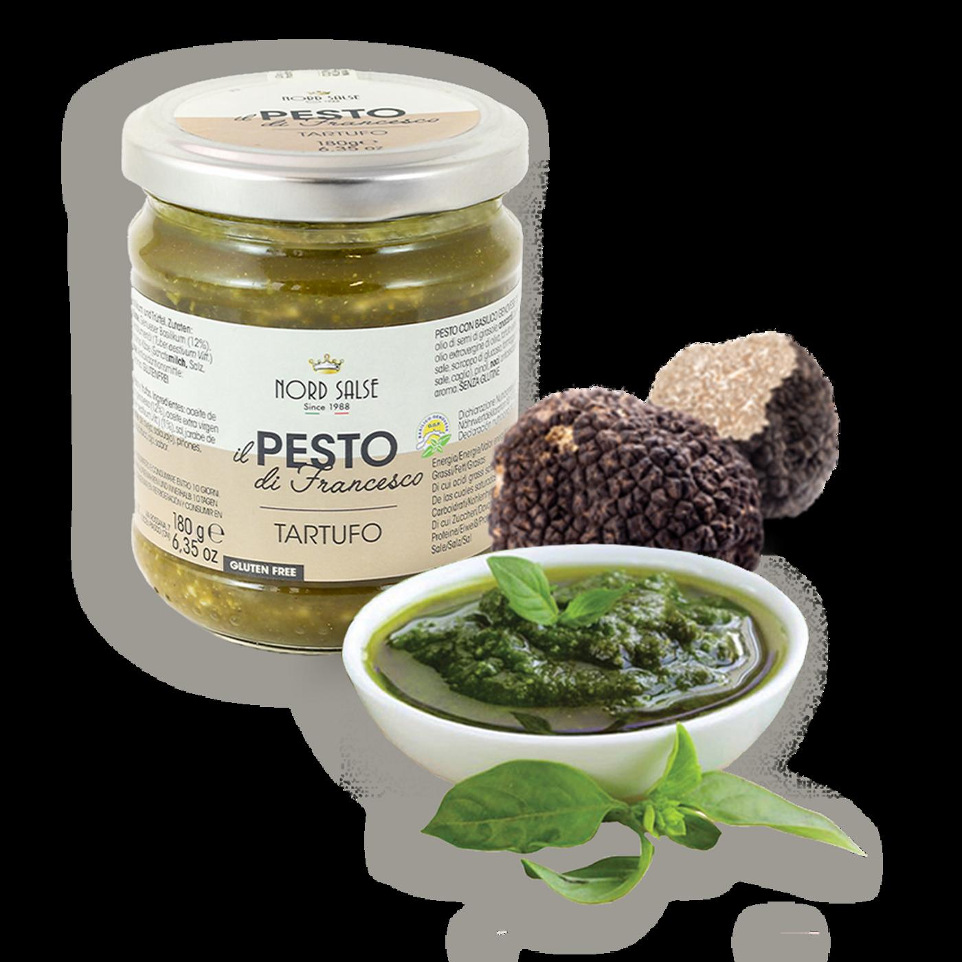 Pesto Con Albahaca Genovesa Dop Y Trufa