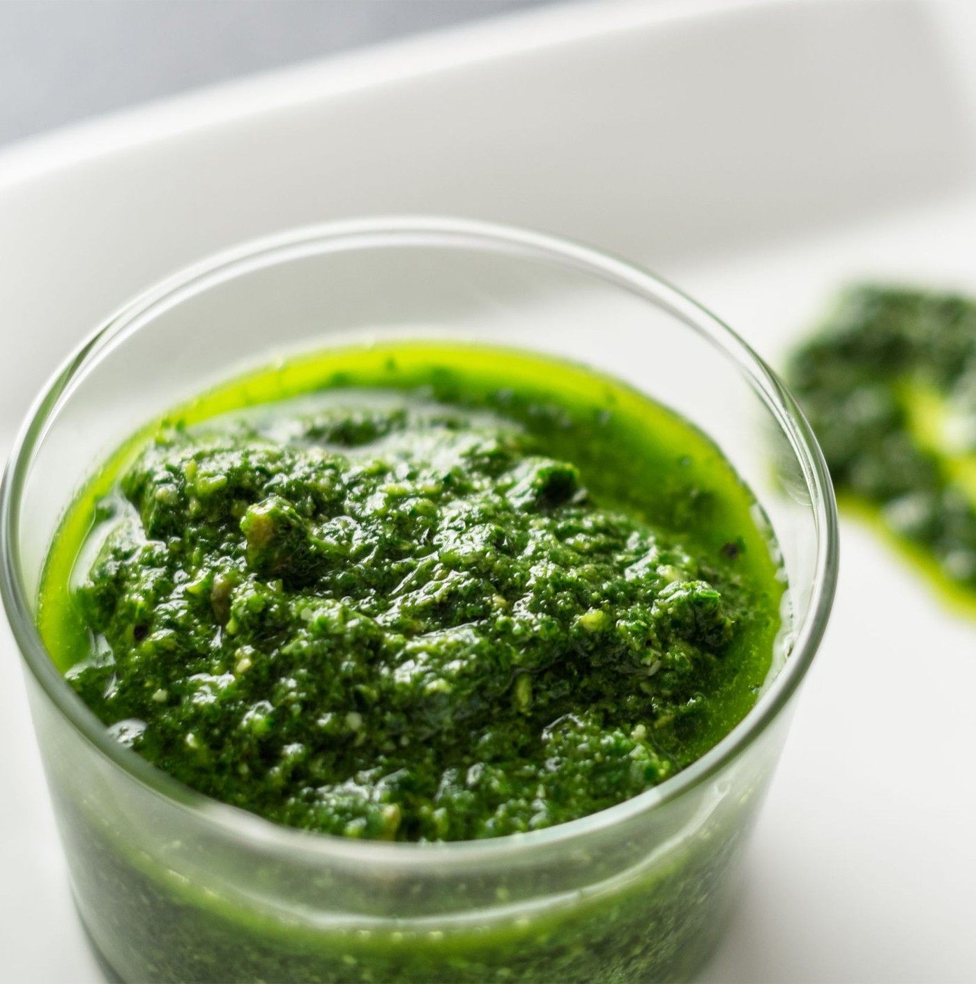 receta de Pesto Con Albahaca Genovesa Dop Y Pistacho