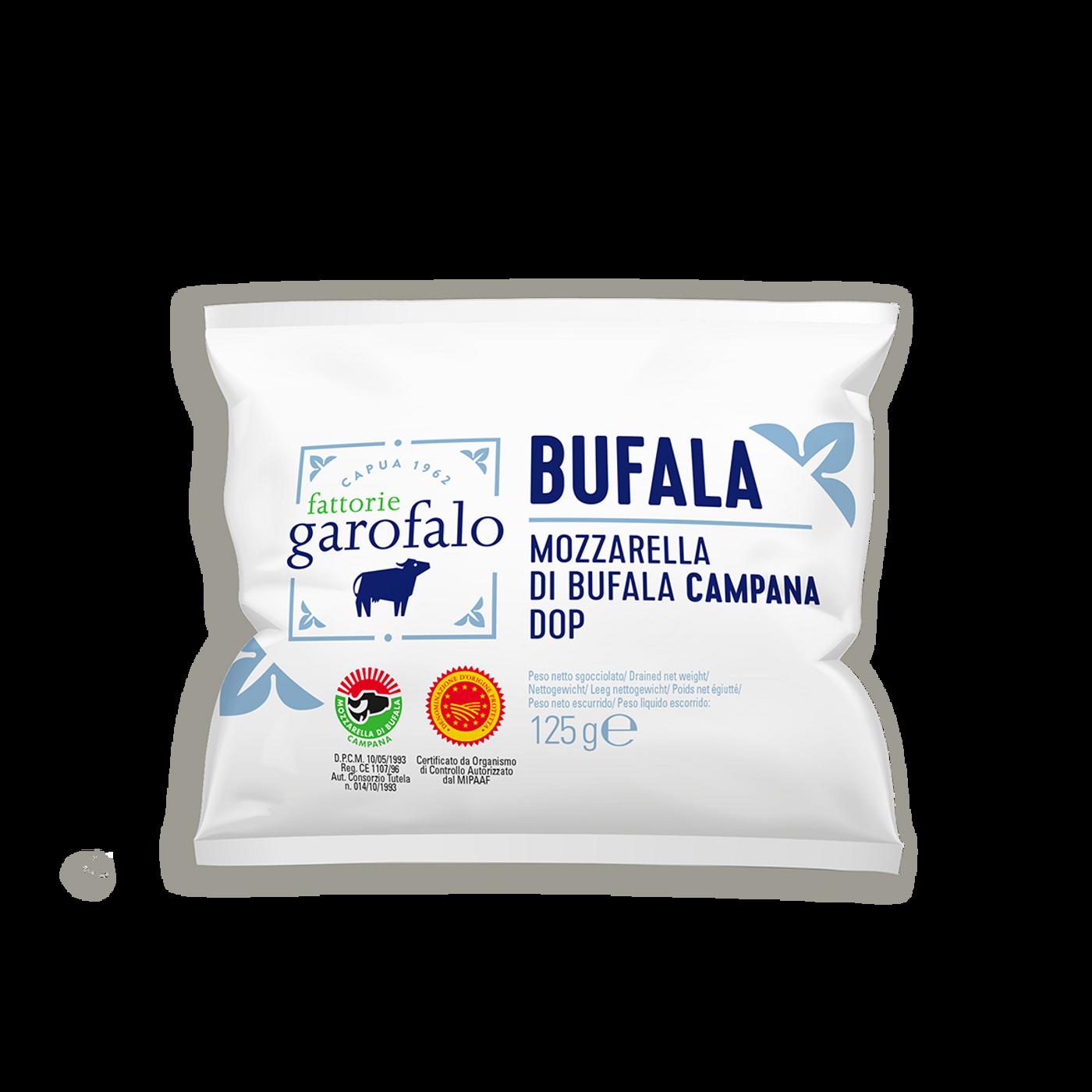 Mozzarella De Búfala Campana Dop