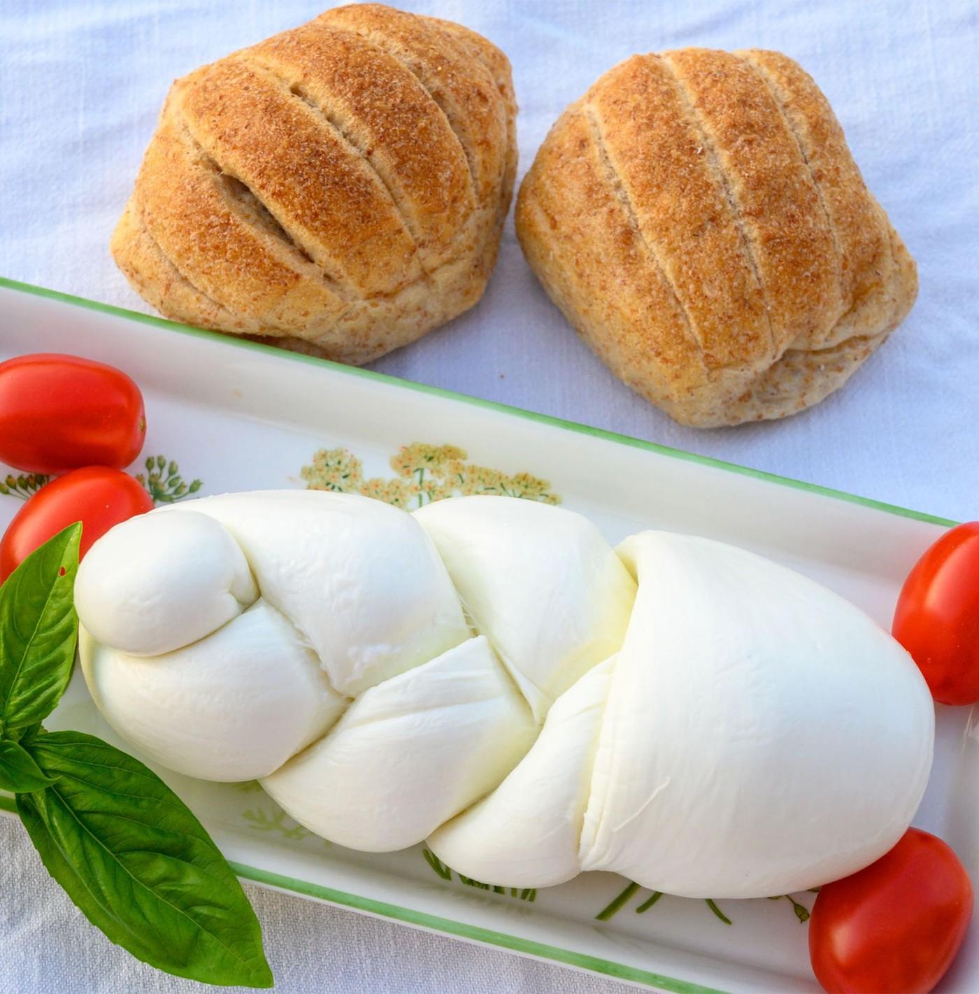 receta de Treccina De Búfala