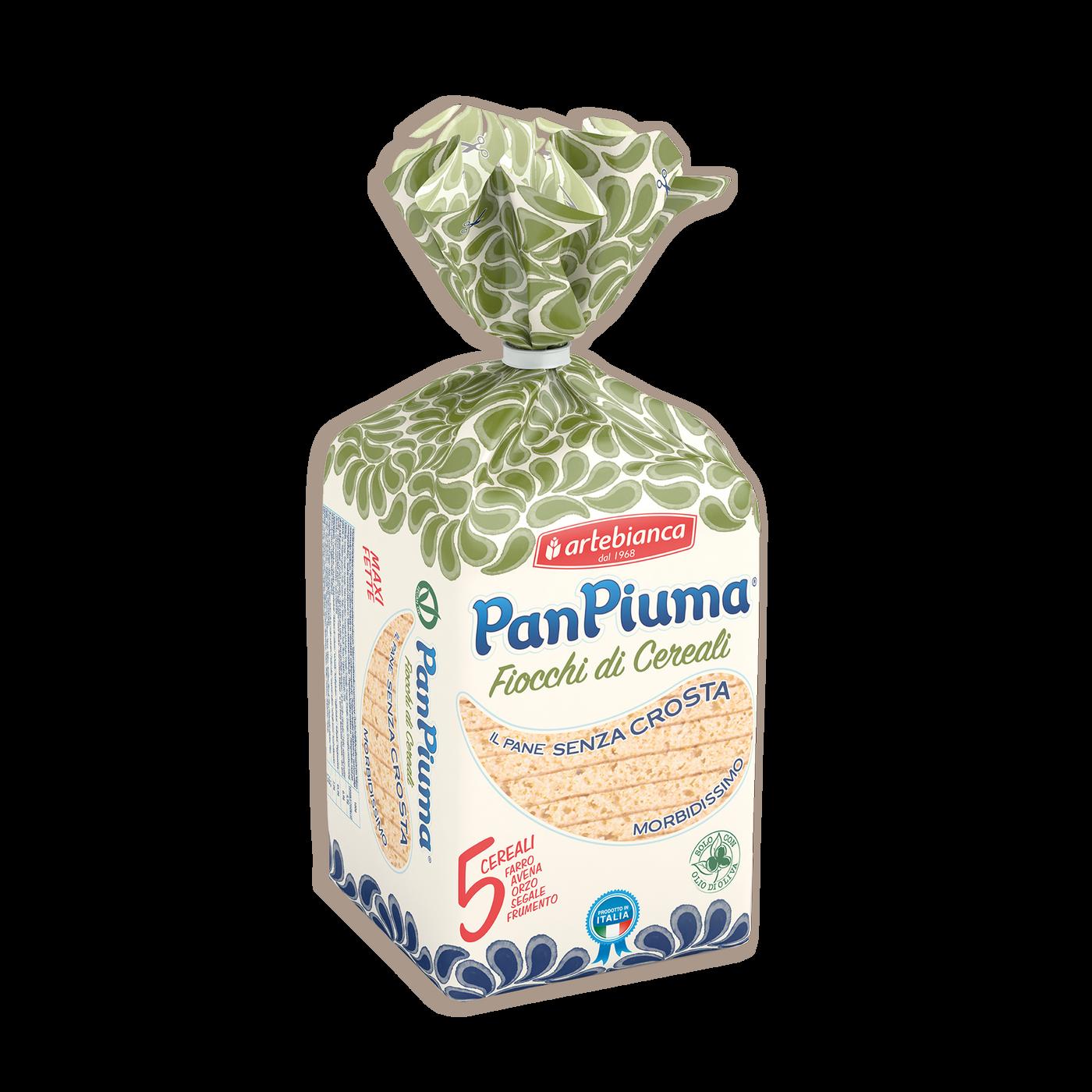 Pan Piuma Con Copos De Cereales
