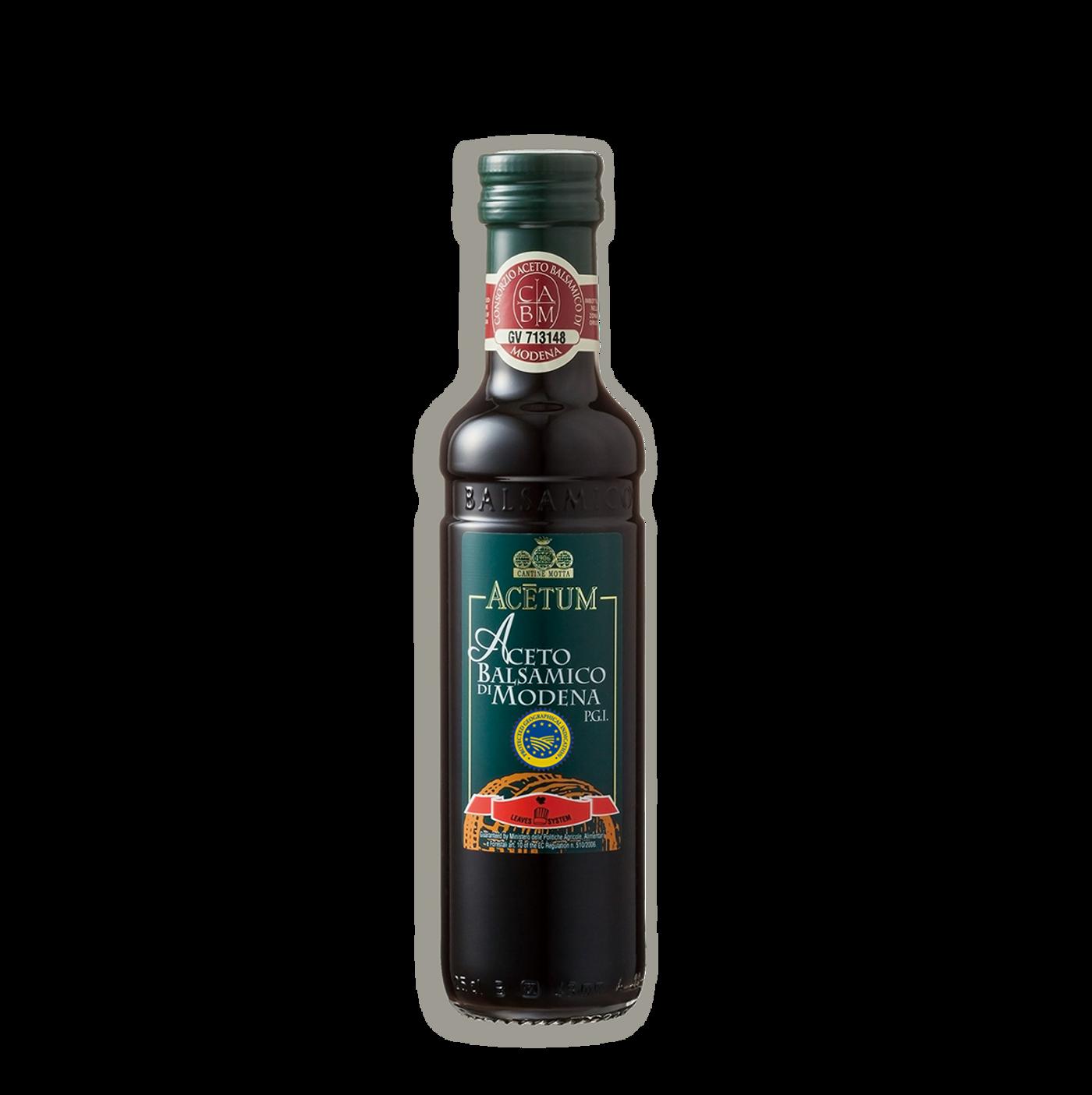 "Vinagre balsámico ""antica modena"" I.G.P. (1 hoja)"