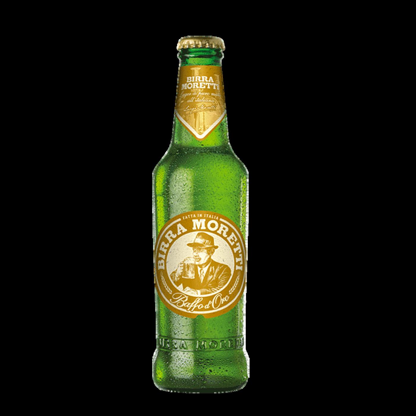 Cerveza Moretti Baffo D'oro