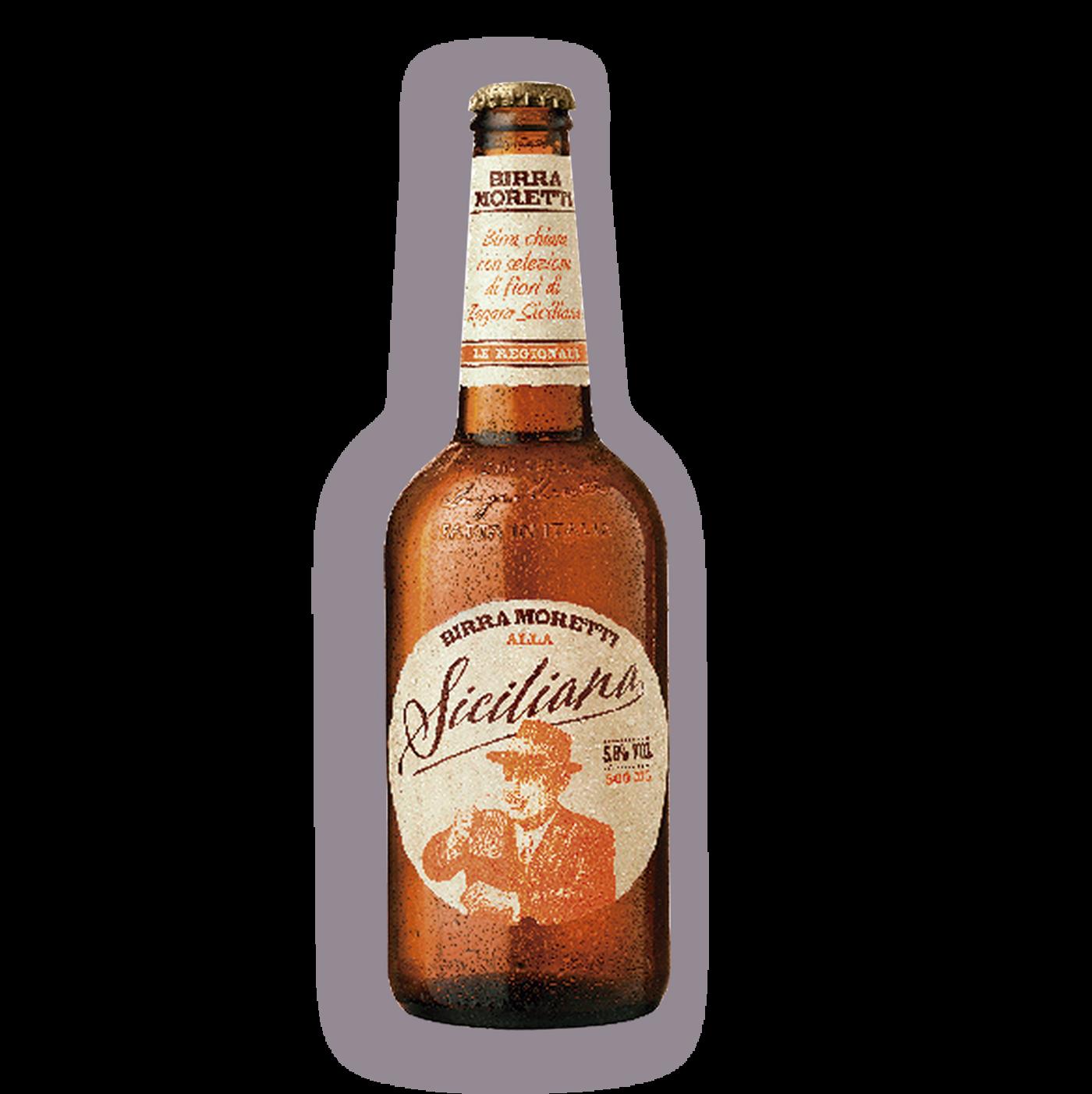 Cerveza Moretti Siciliana