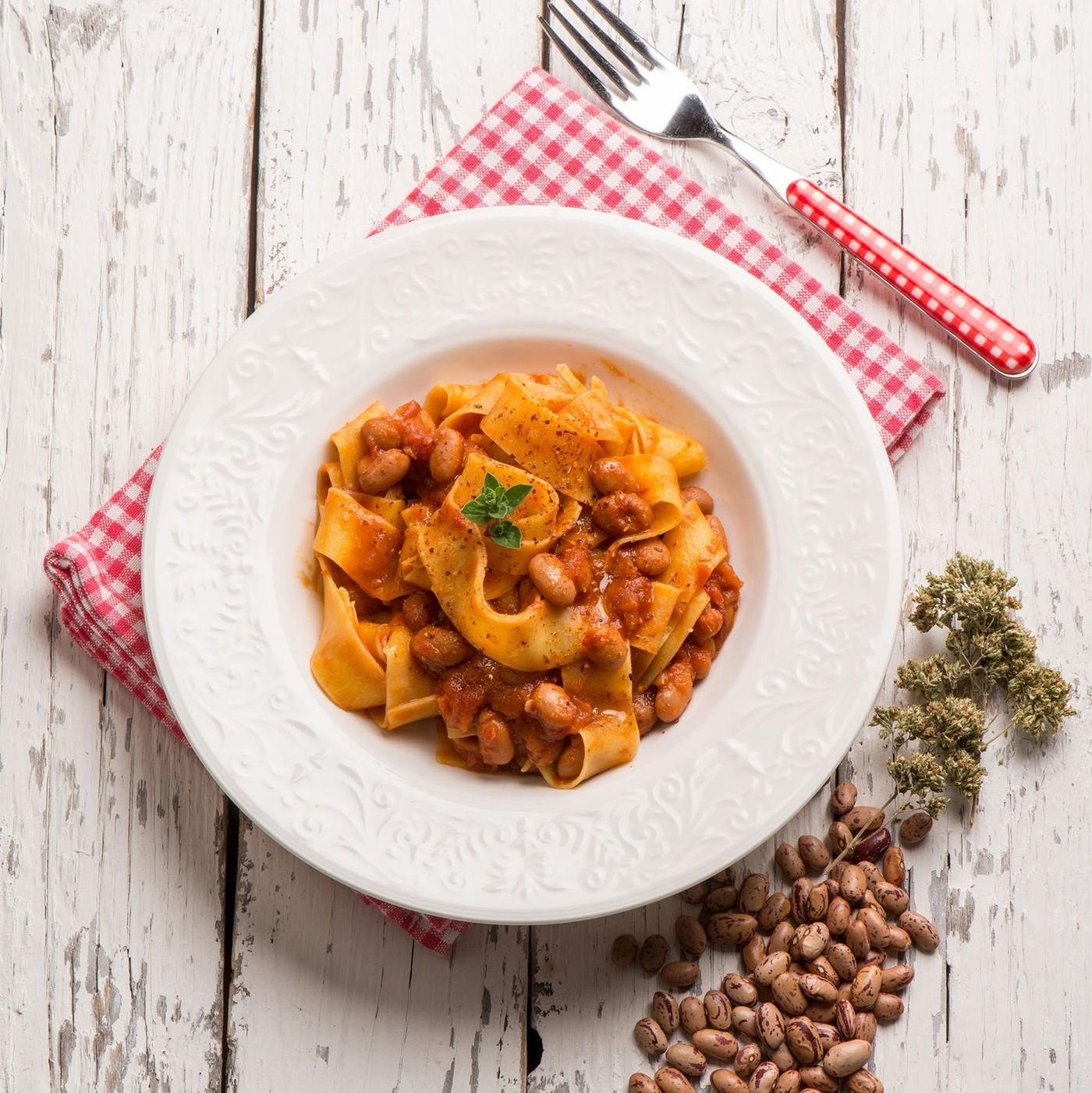 receta de Pappardelle Nidi Uovo Nº.101