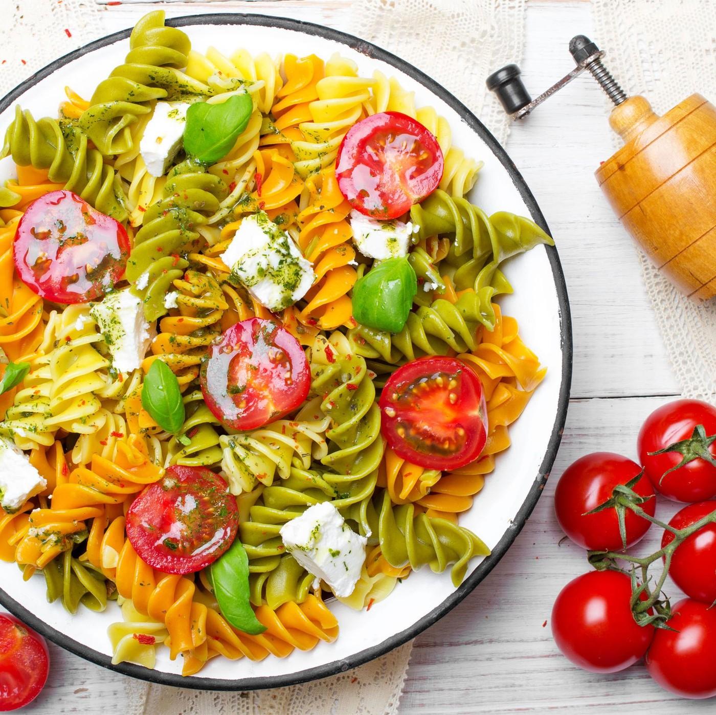 receta de Fusilli Tricolor Nº.40