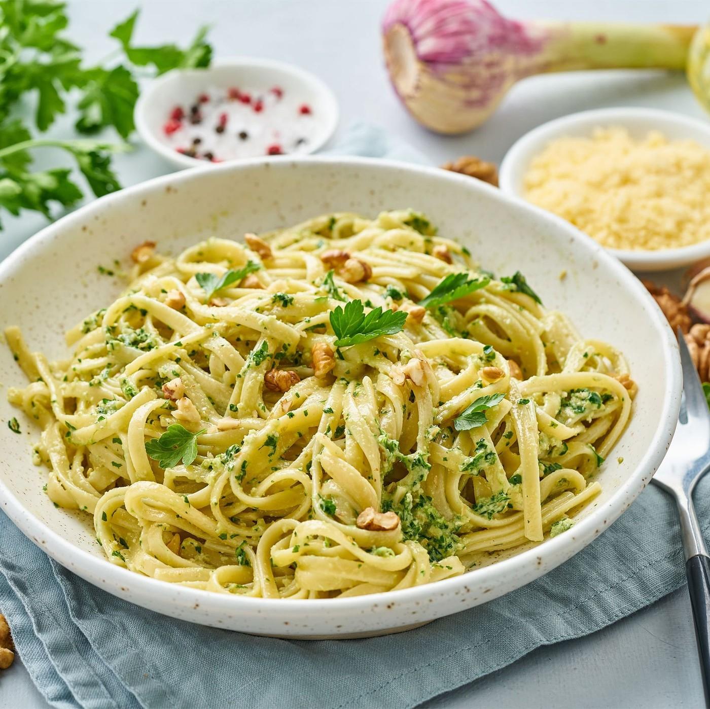 receta de Tagliatelle Nidi Semola Nº.91