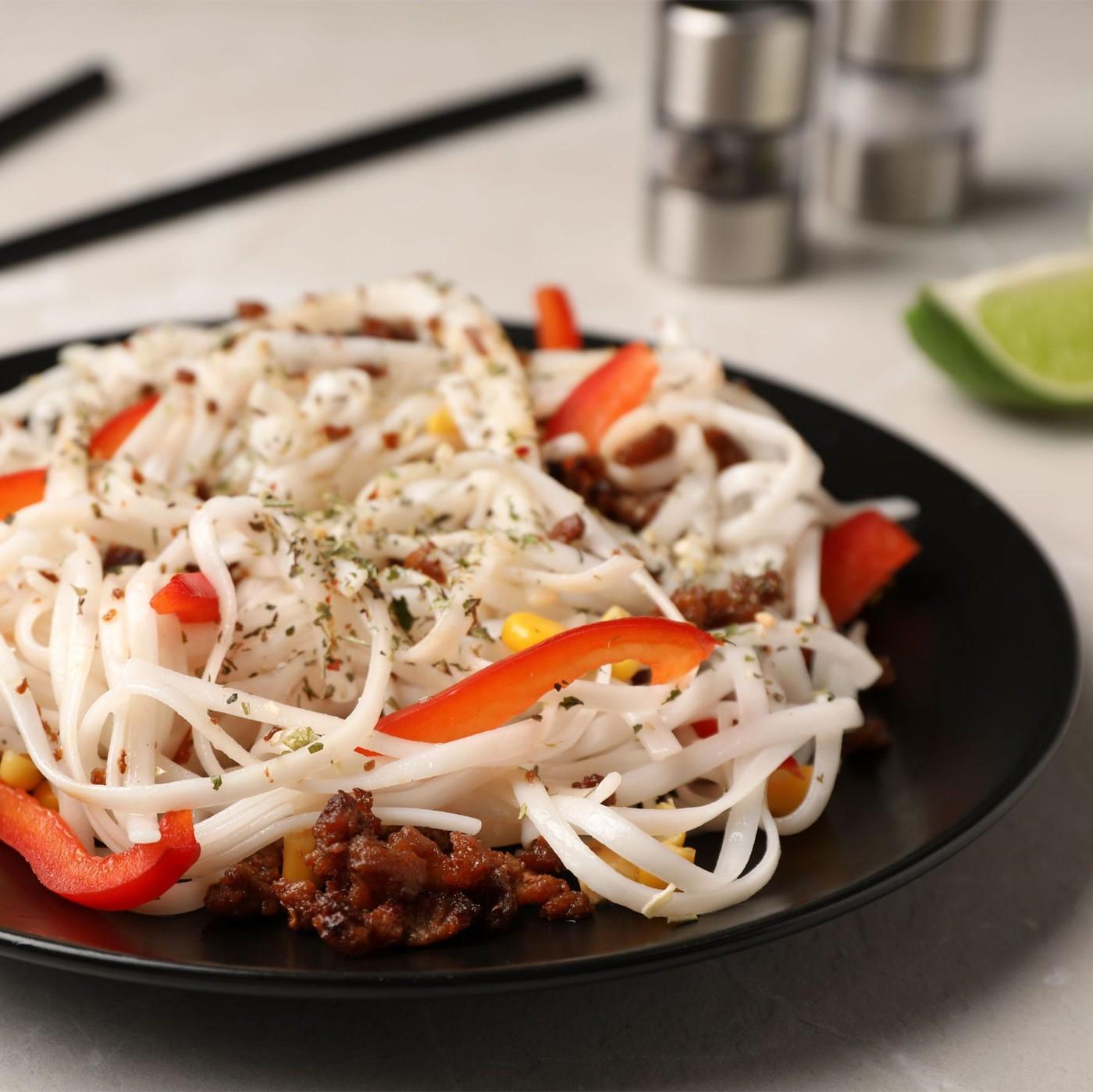 receta de Spaghetti Mais E Riso
