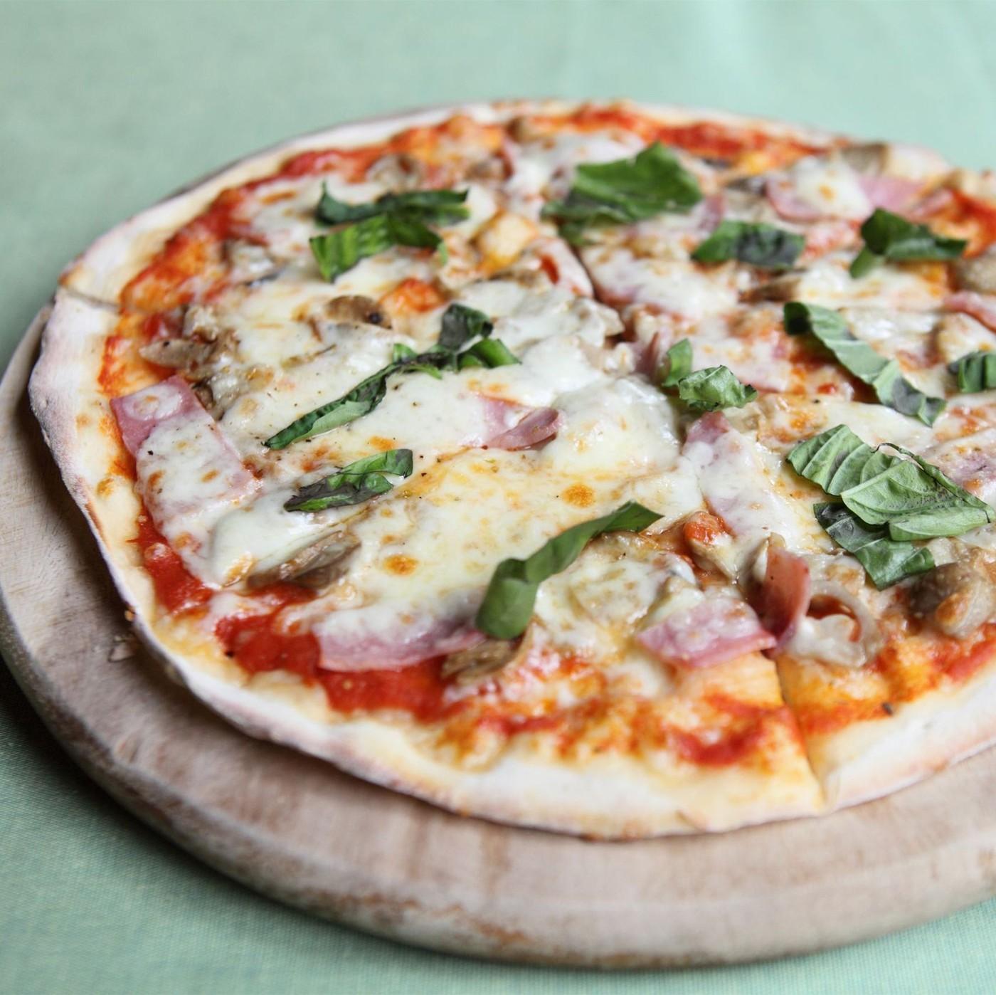 receta de Base Para Pizza Con Tomate Ø30