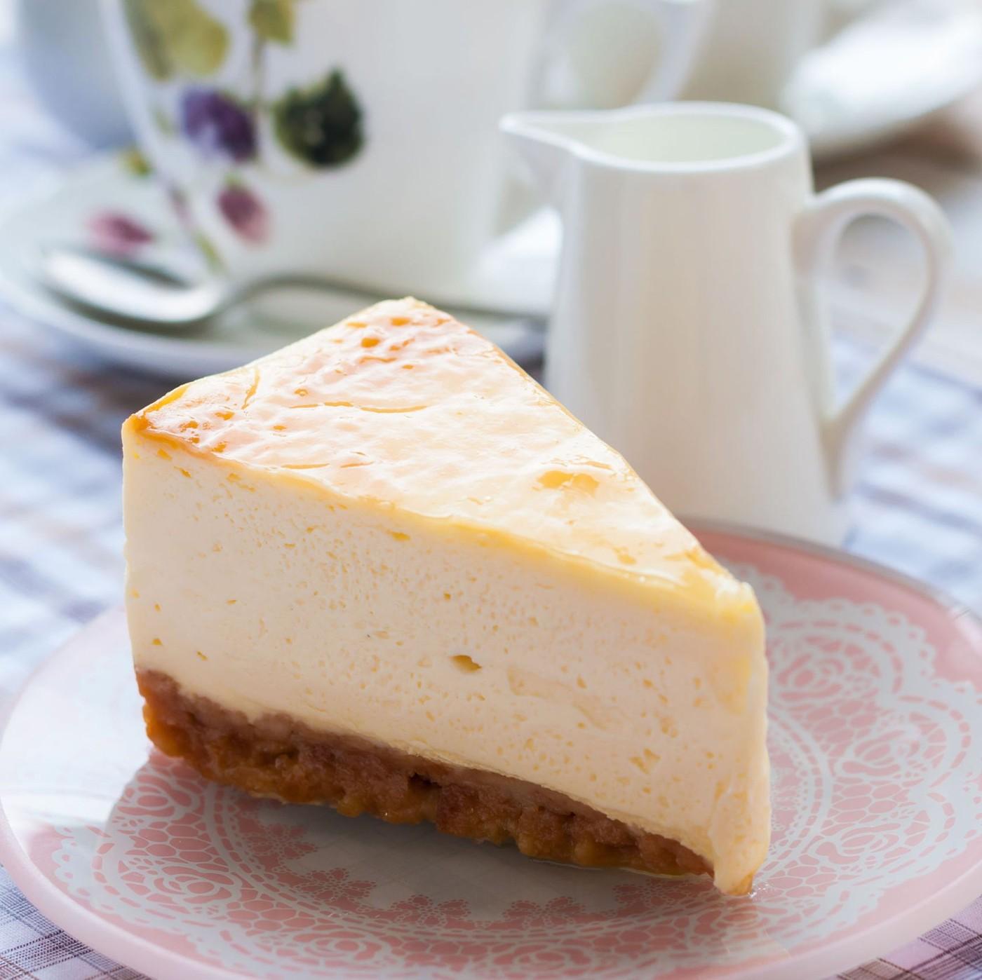 receta de Pastel De Queso Con Vainilla