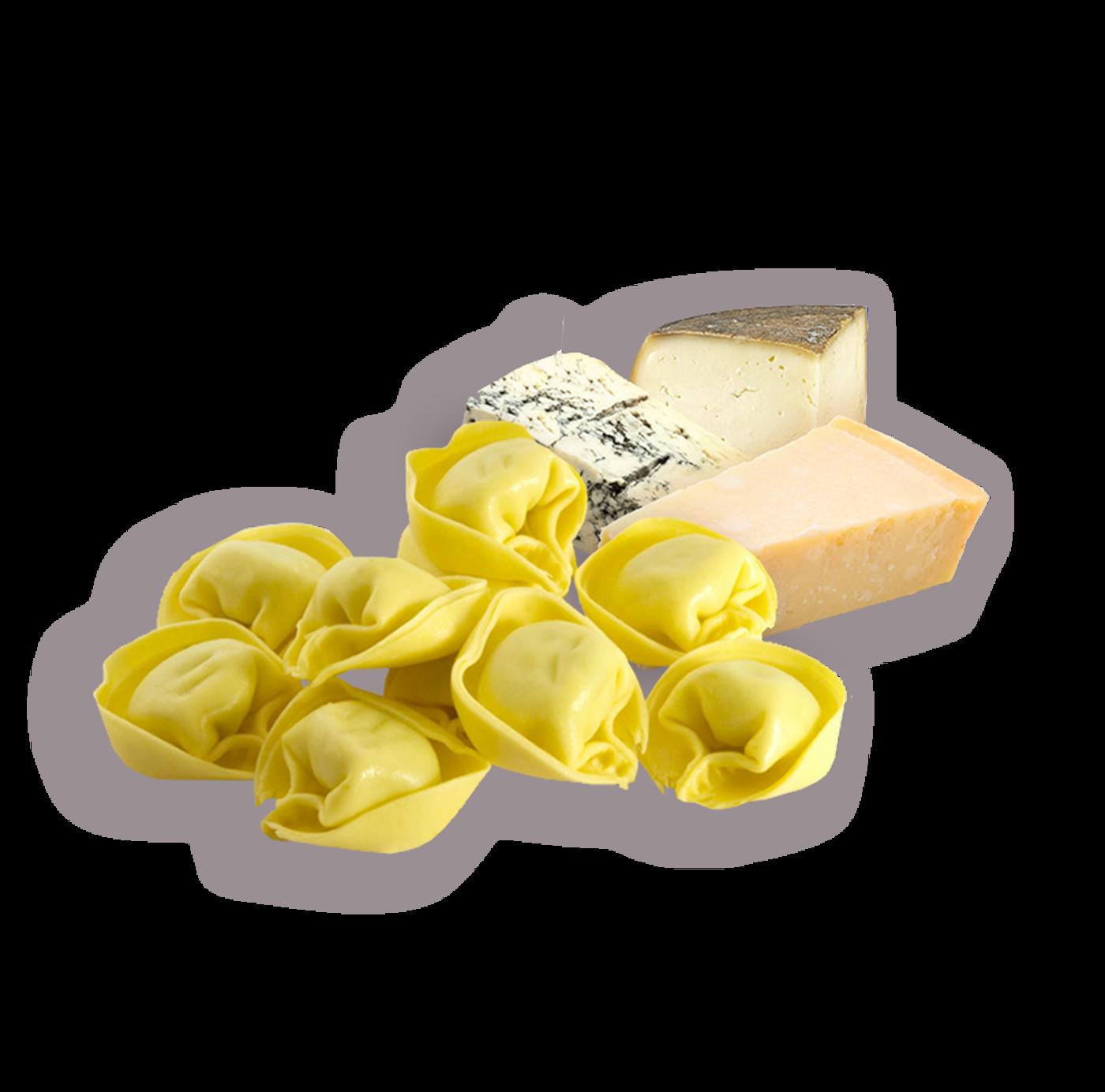 Tortelloni de queso