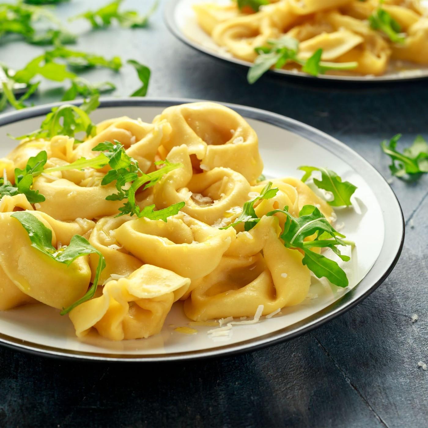 receta de Tortellone de ricotta y espinacas