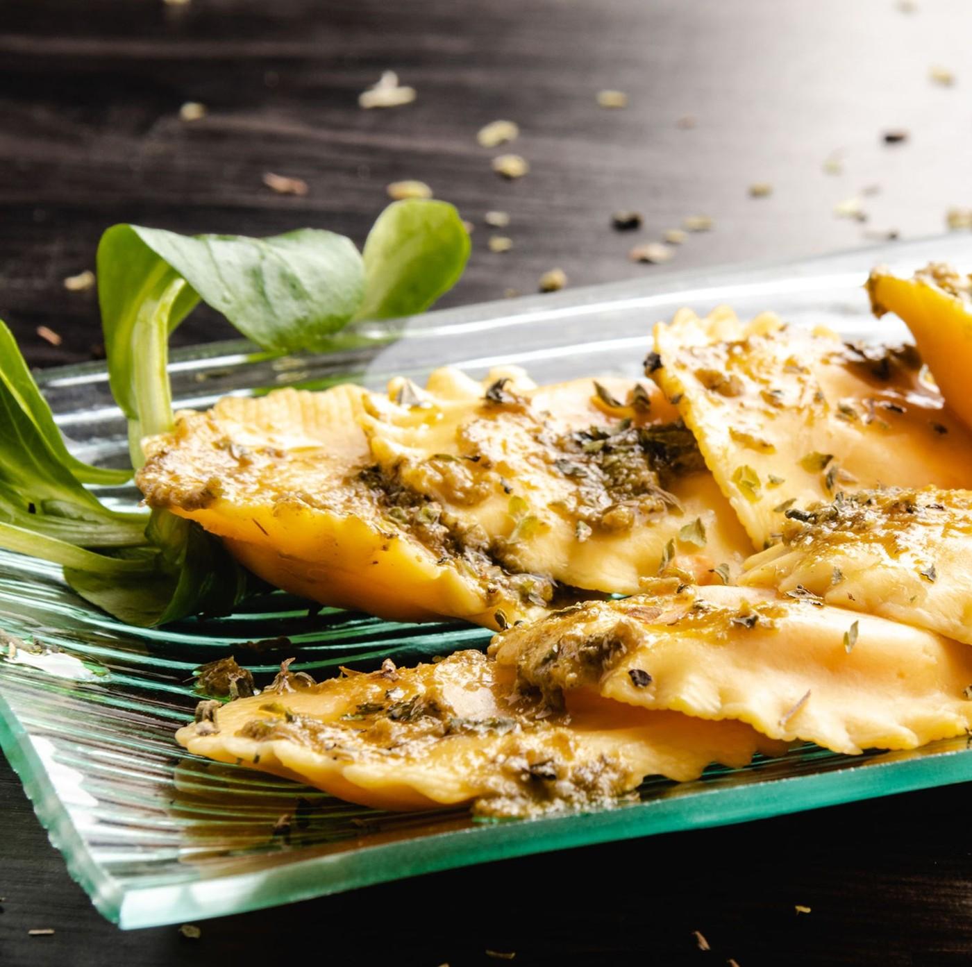 receta de Girasoli de queso de cabra, miel y nueces