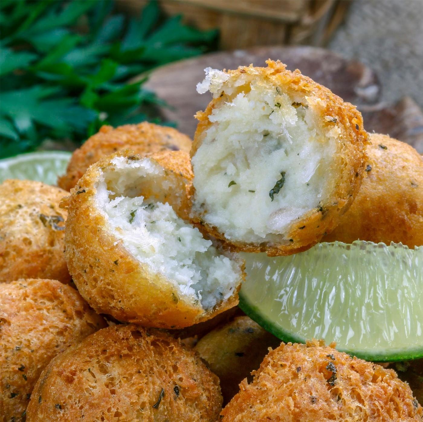 receta de Pasta artesana para buñuelos de bacalao