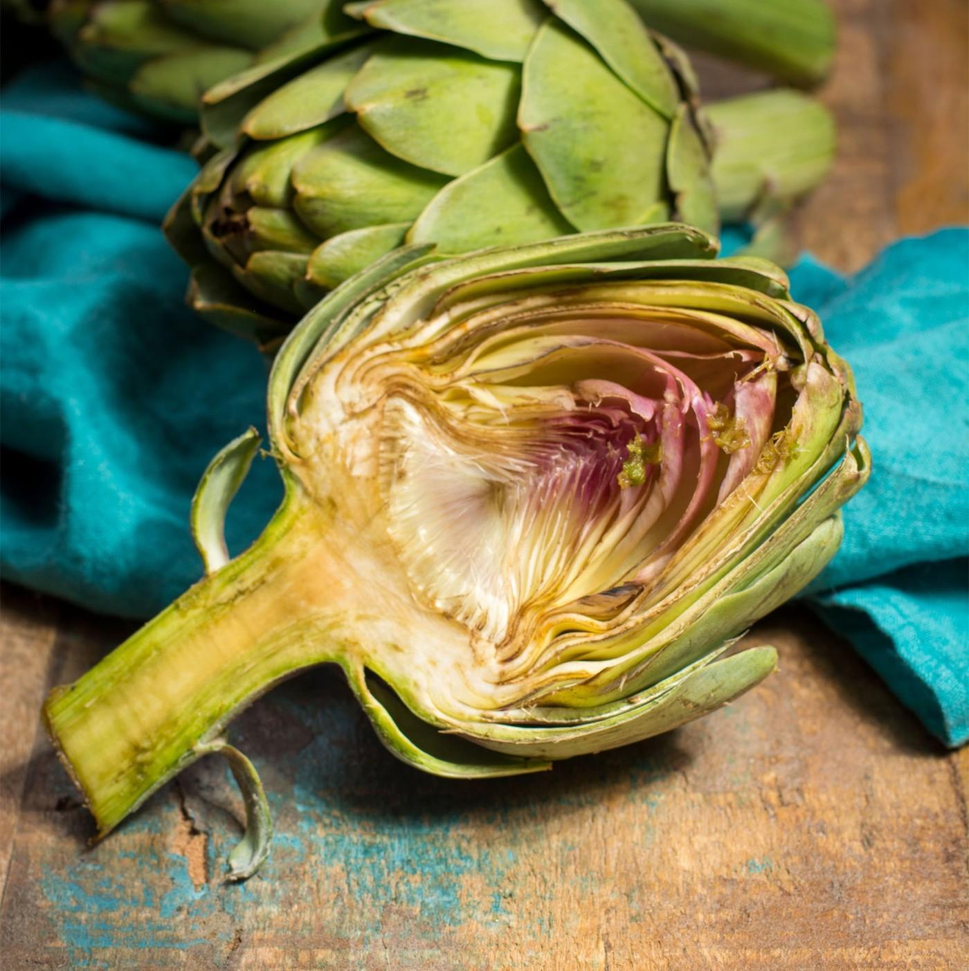 receta de Alcachofas A Cuartos Al Natural