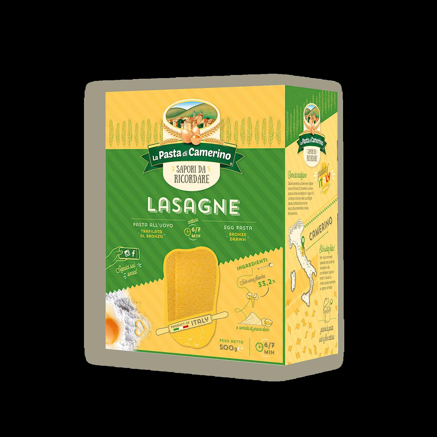 Lasagne All´uovo