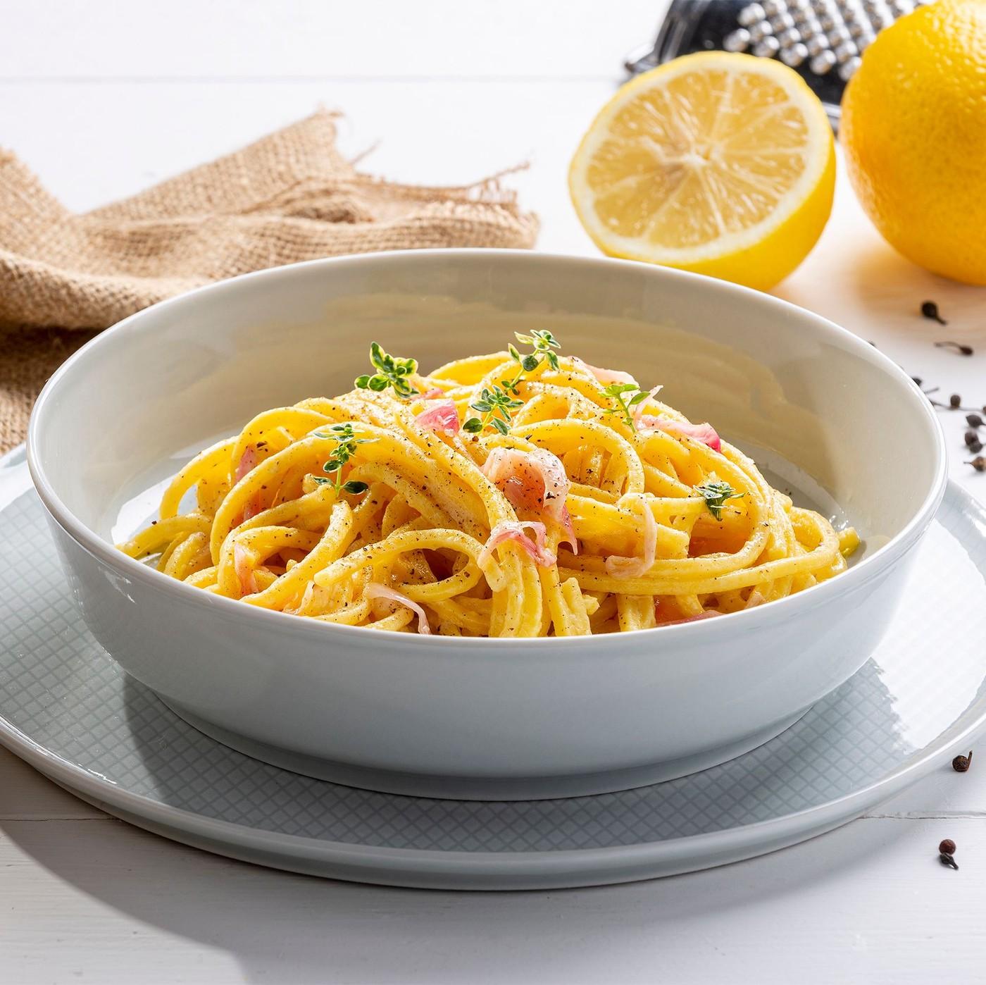 receta de Spaghetti alla chitarra al huevo