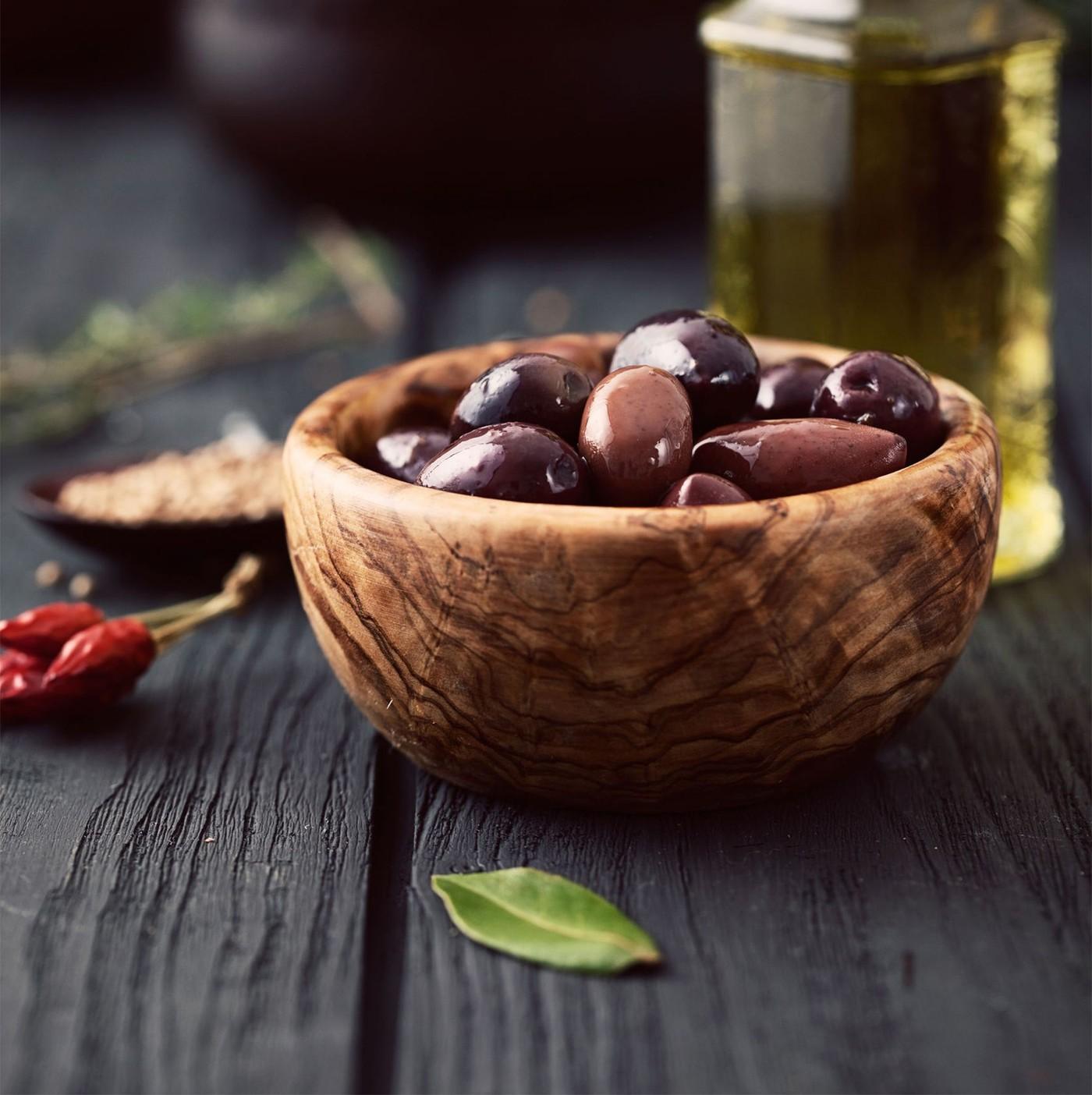 """receta de Aceitunas Negras """"Leccino"""" En Salmuera"""