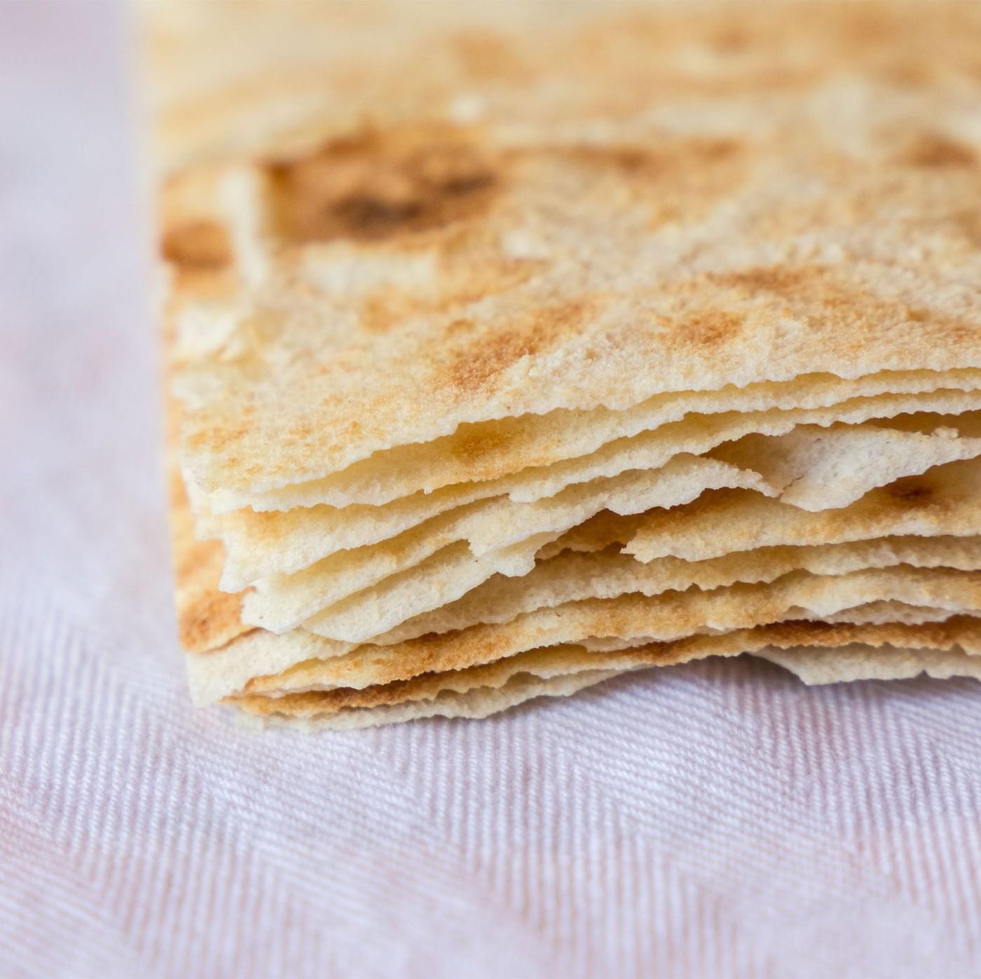 """receta de Pan Sfogliatina Guttiau """"Isola Del Pane"""""""