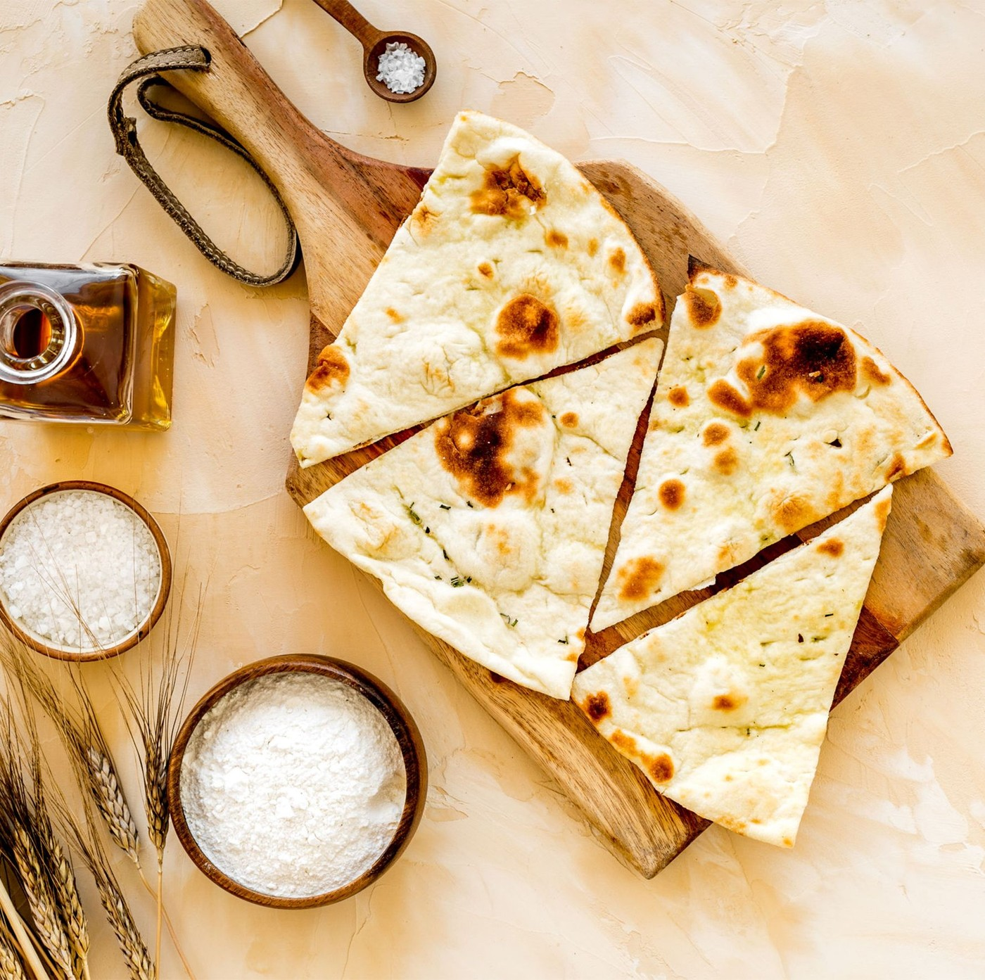 "receta de Pan Carasau Superfino ""Isola Del Pane"""