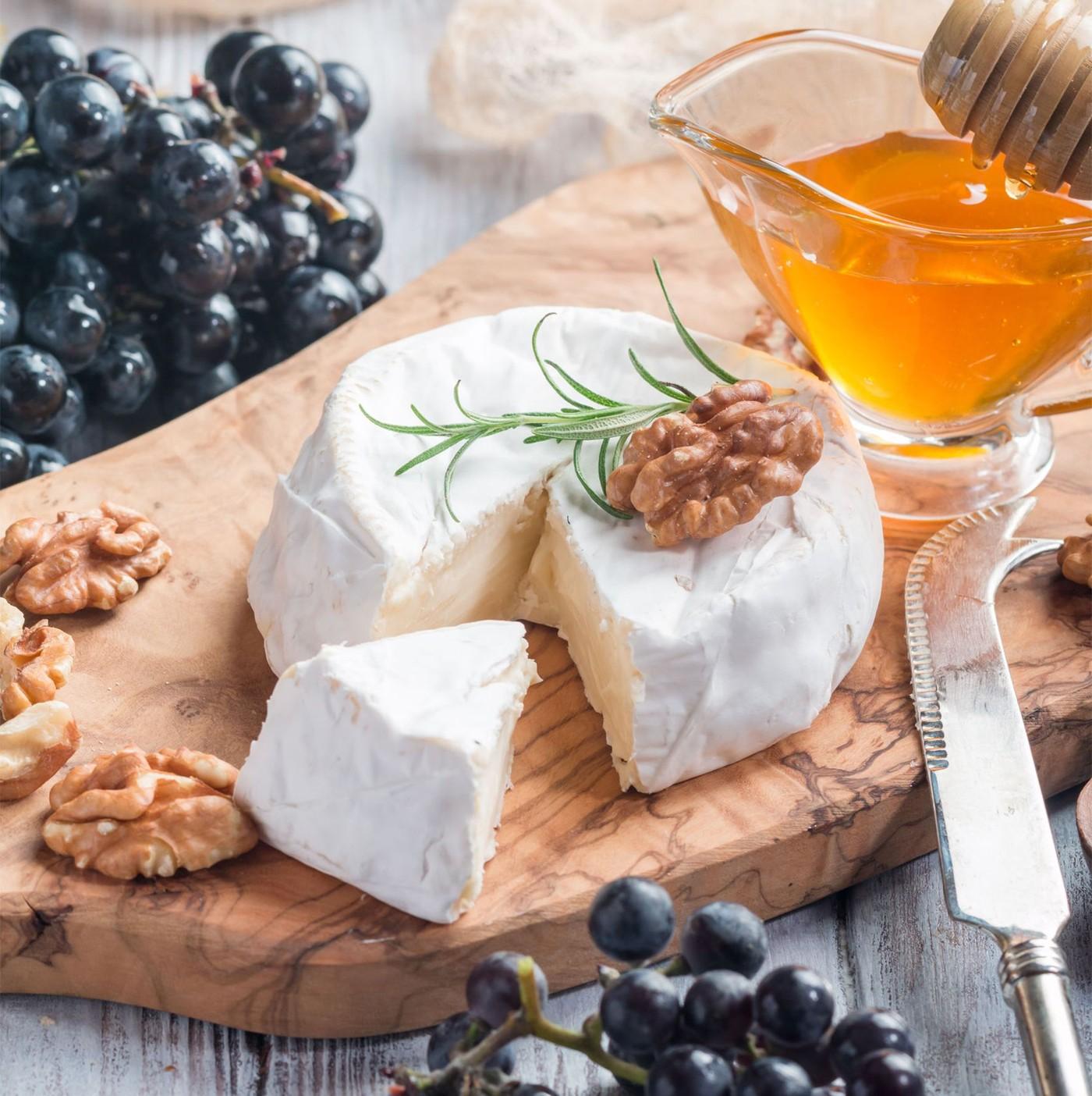 receta de Camembert Di Capra