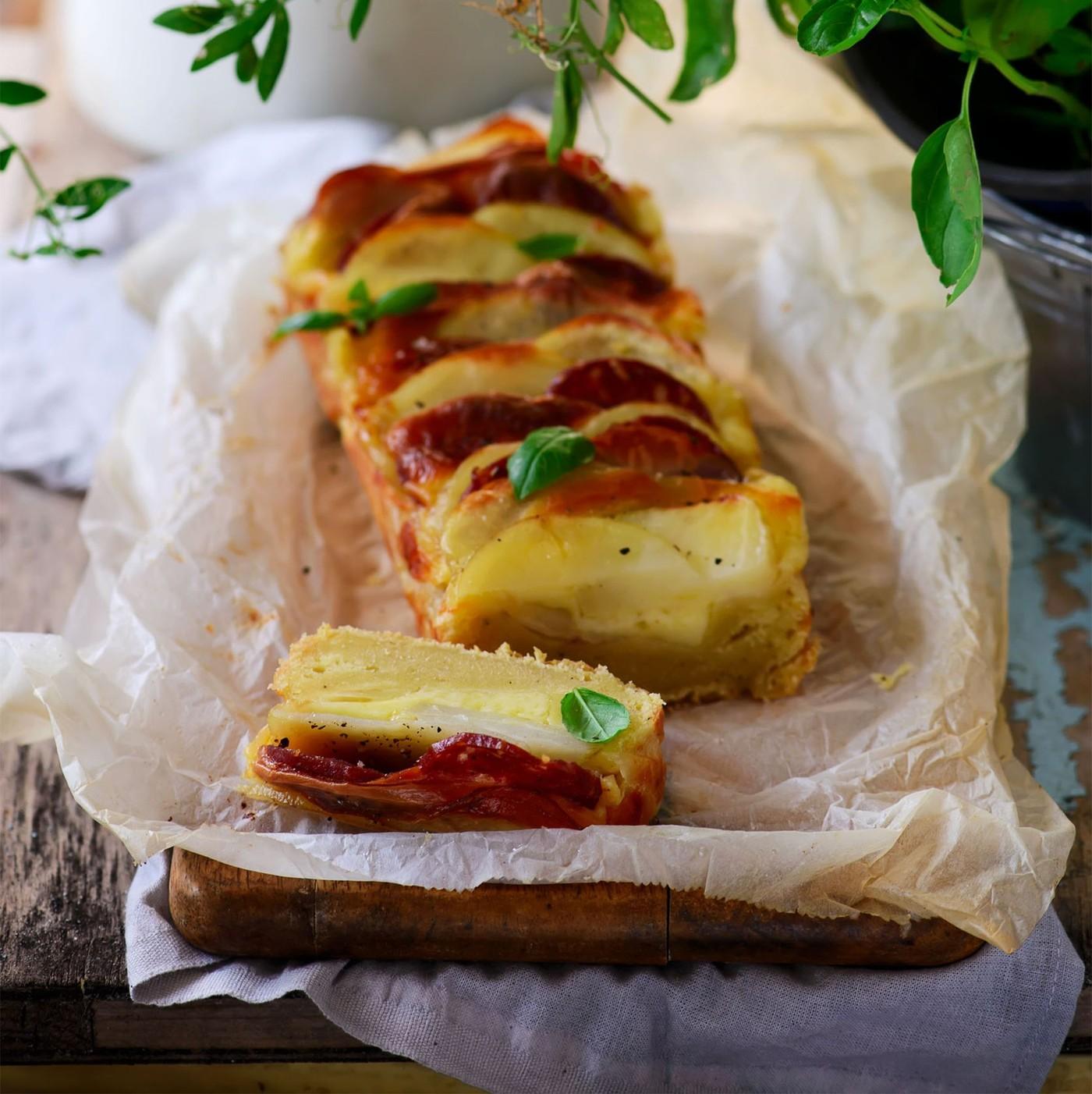 receta de Provolone Pancetta Dolce