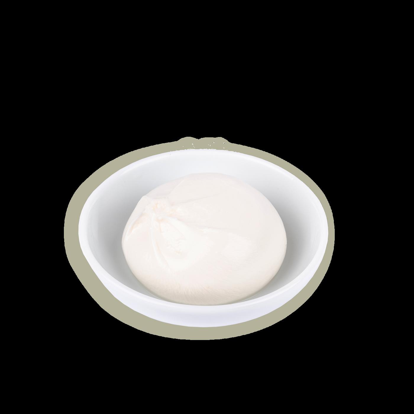 Burrata congelada puglia in tavola