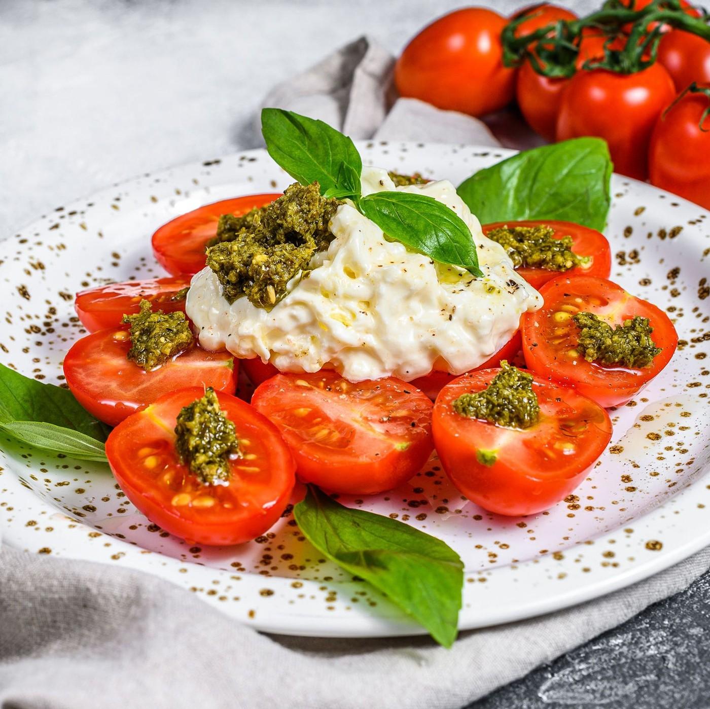 receta de Stracciatella Congelada Puglia In Tavola