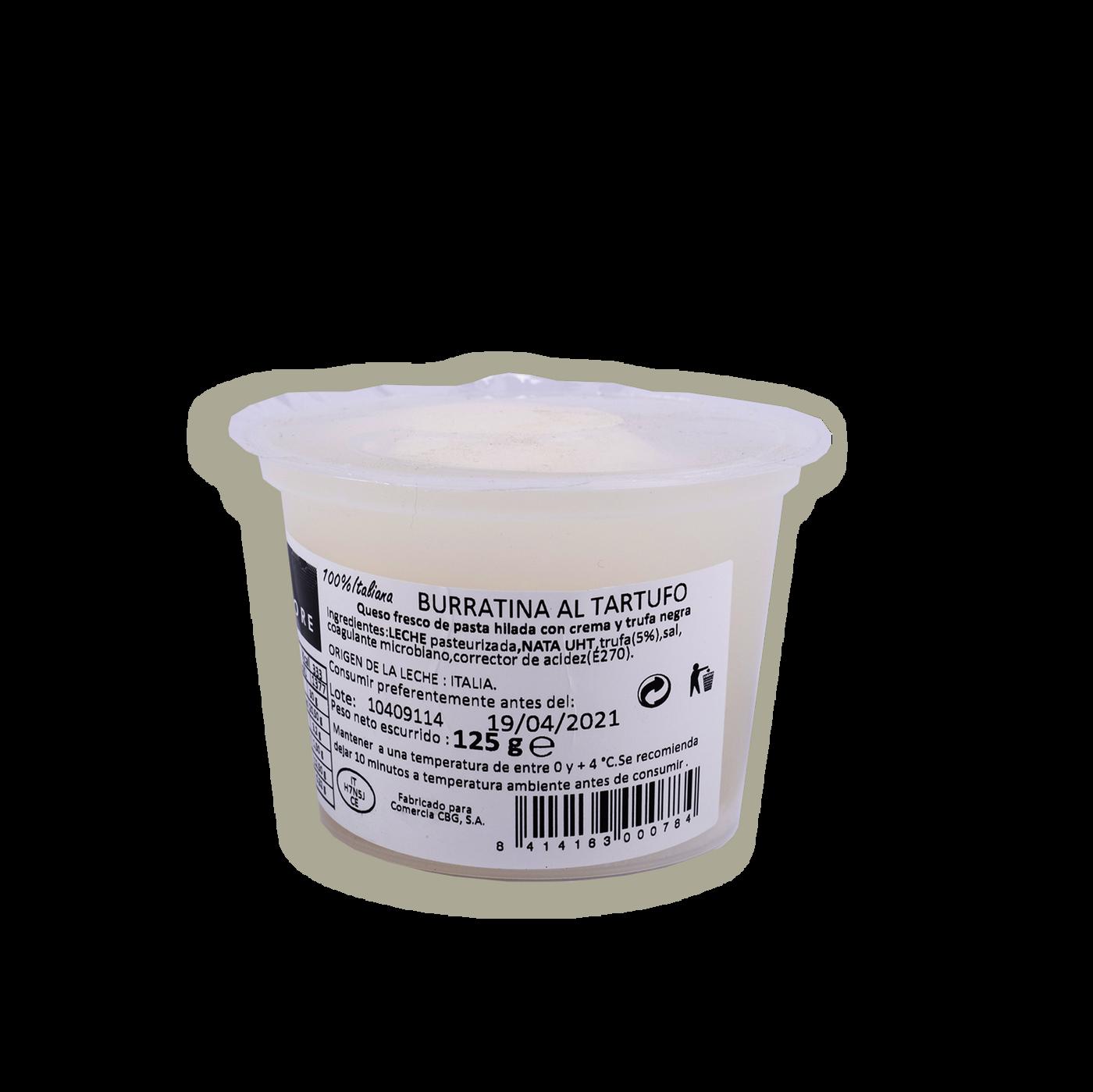 Burratina Aromatizzata Al Tartufo S/testa