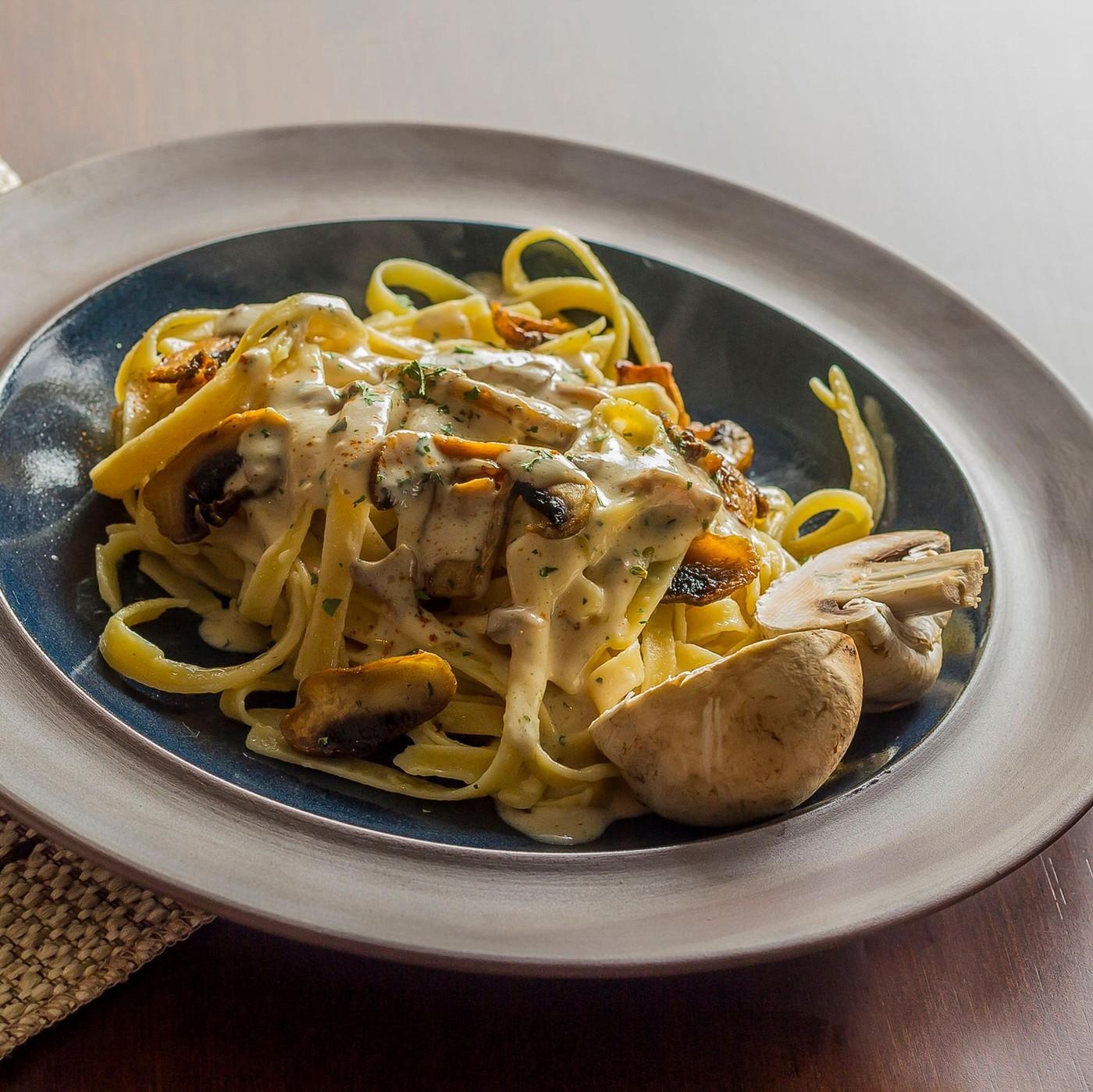 receta de Fettuccine al huevo con trufa