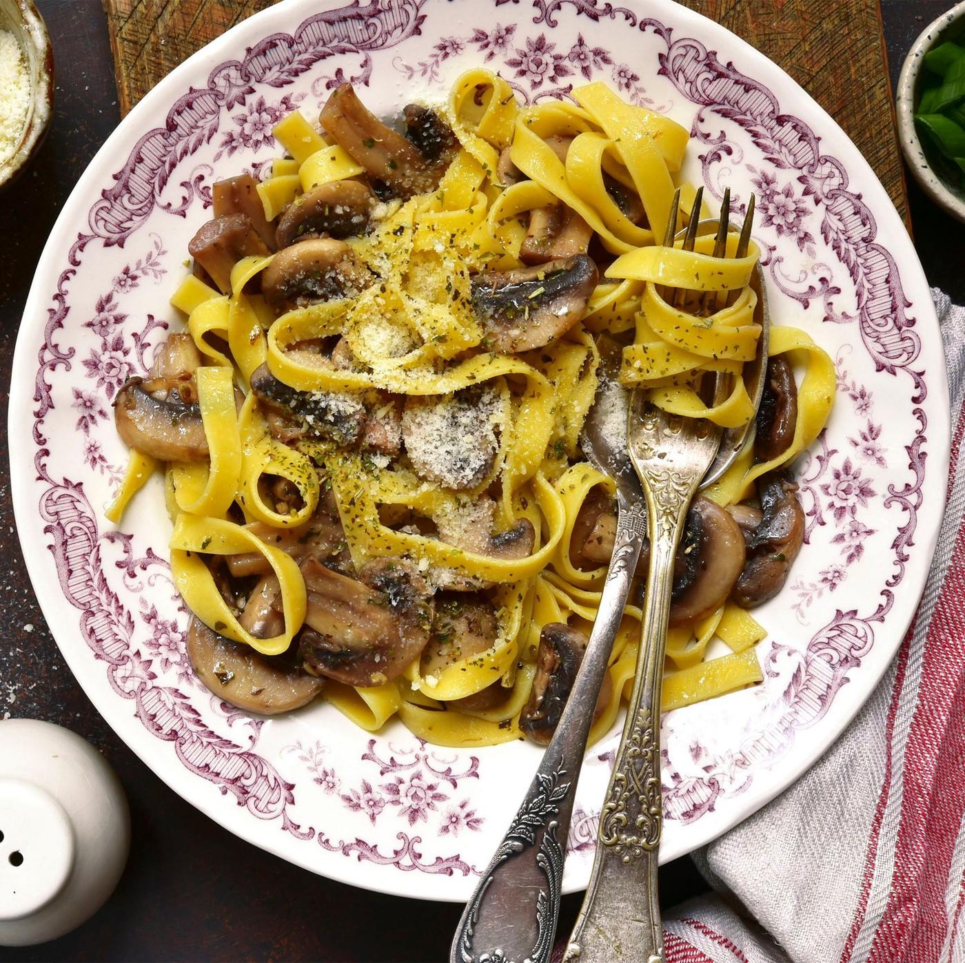 receta de Delicia de setas porcini y trufa blanca