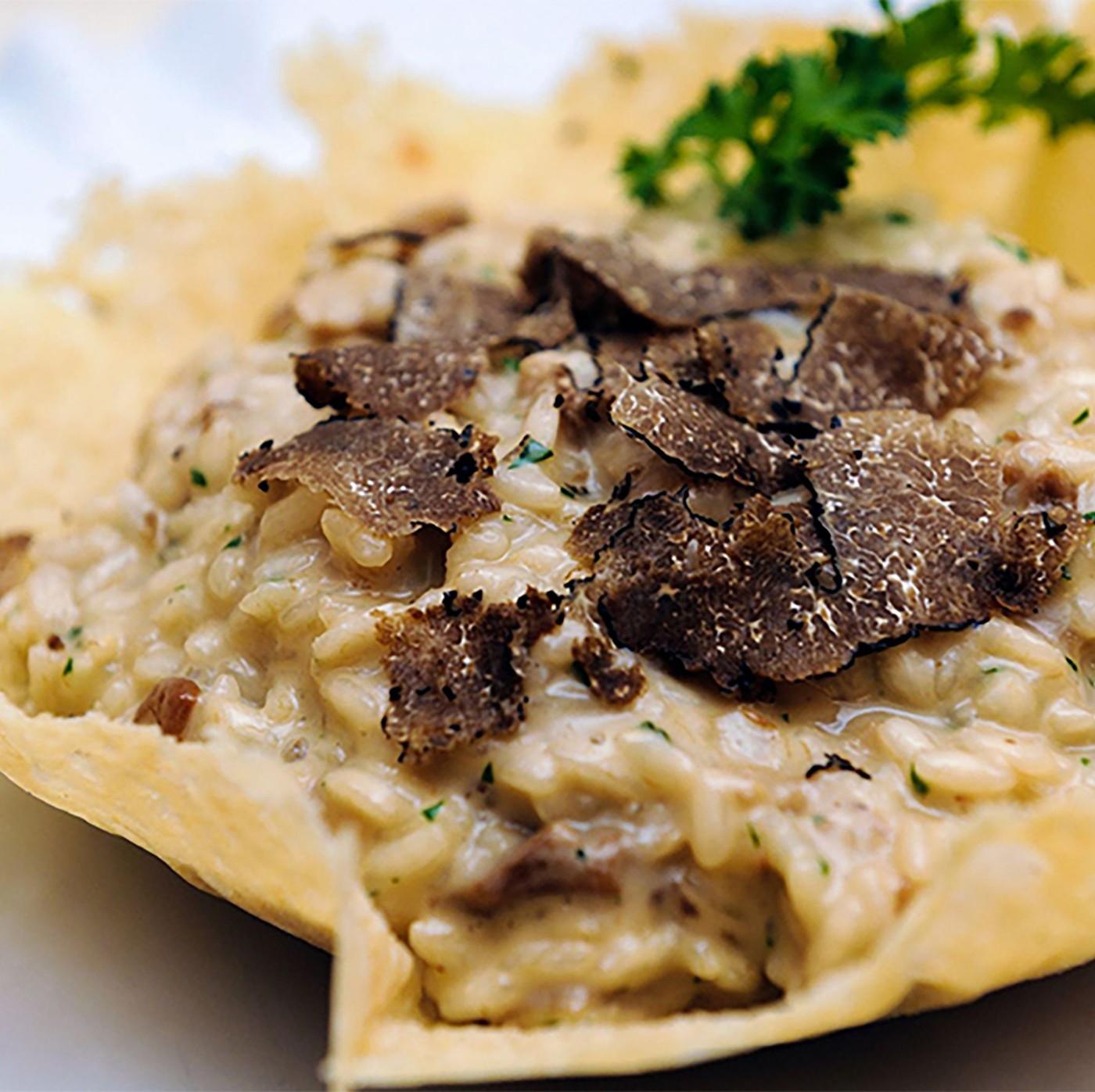 receta de Especialidad Gourmet De Mantequilla Y Trufa Negra