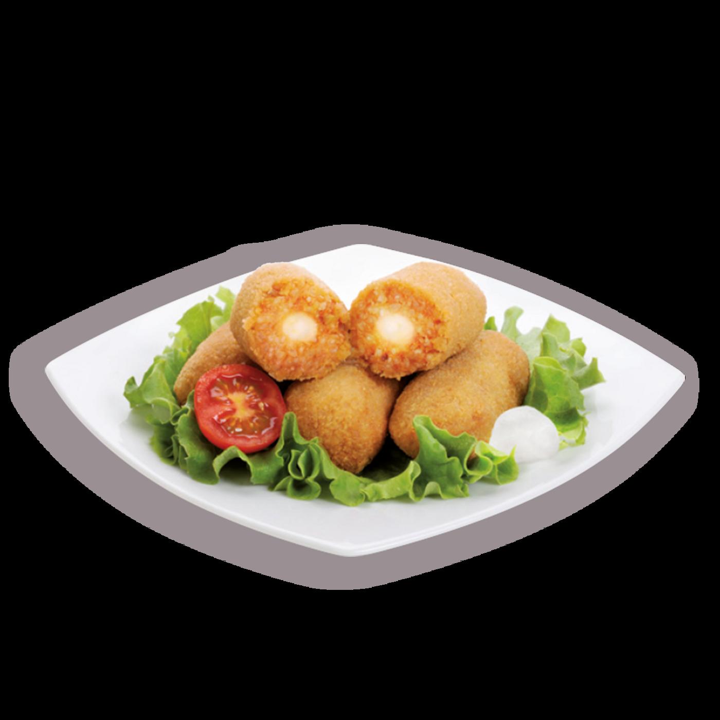 Suppli De Tomate Y Mozzarella