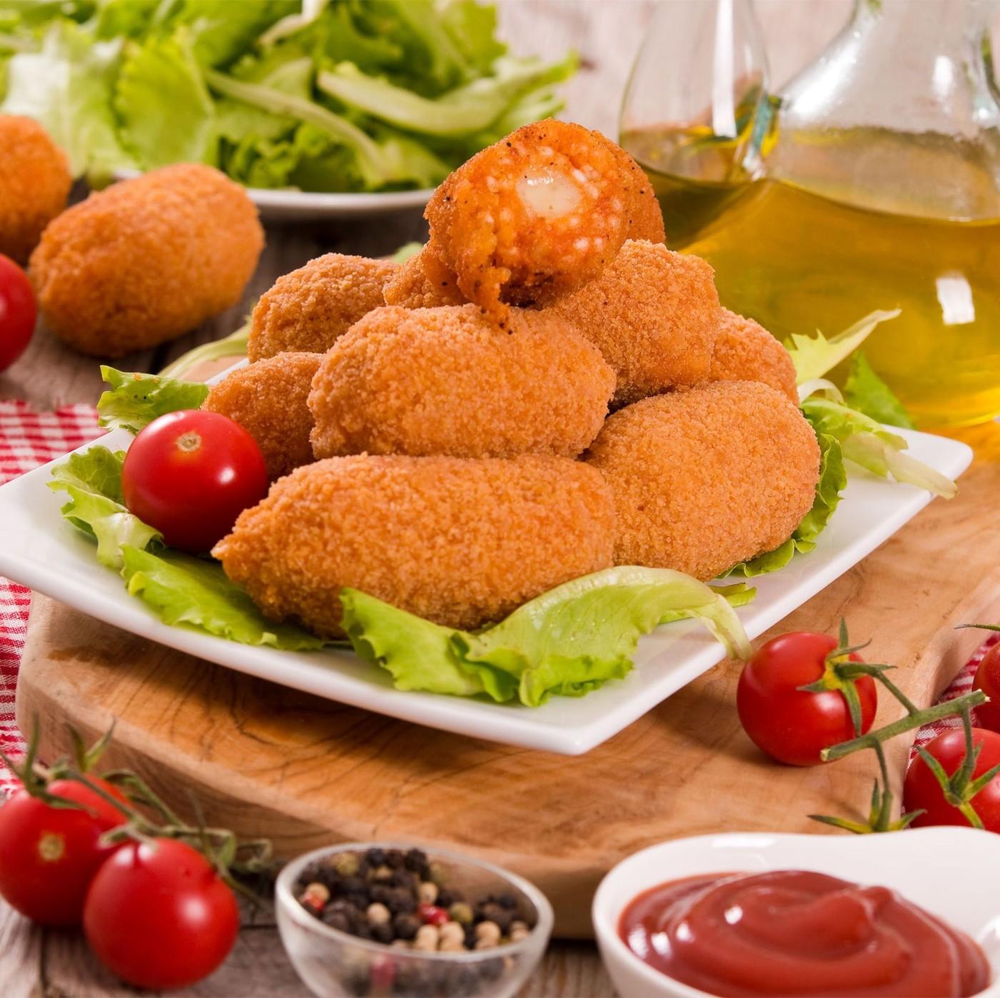 receta de Suppli De Tomate Y Mozzarella