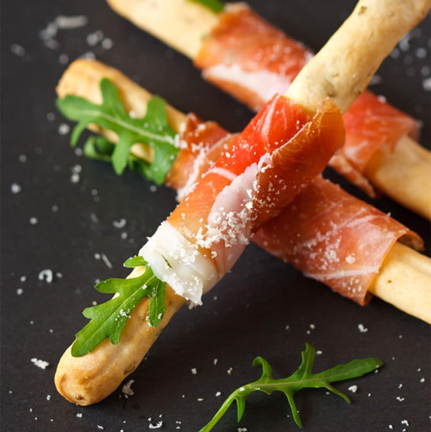 receta de Grissino Rústico Salado Con Oliva Negra