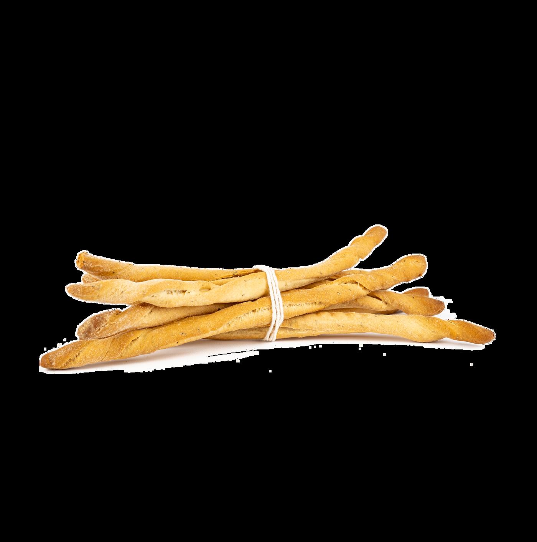 Grissino Rústico Salado Con Parmesano Reggiano Dop
