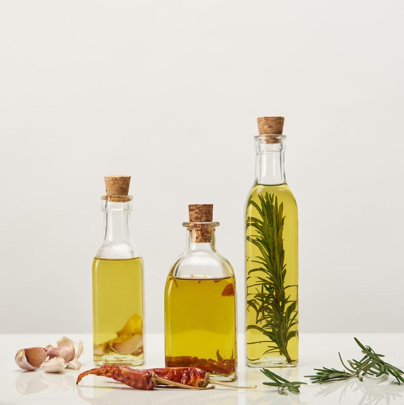 receta de Aceite de oliva con guindilla