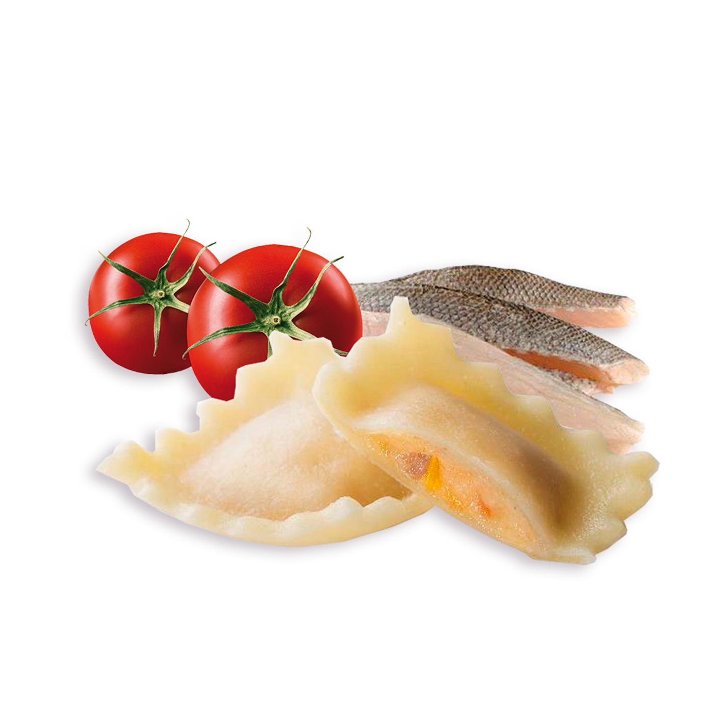 Raviolis De Pescado Sin Gluten