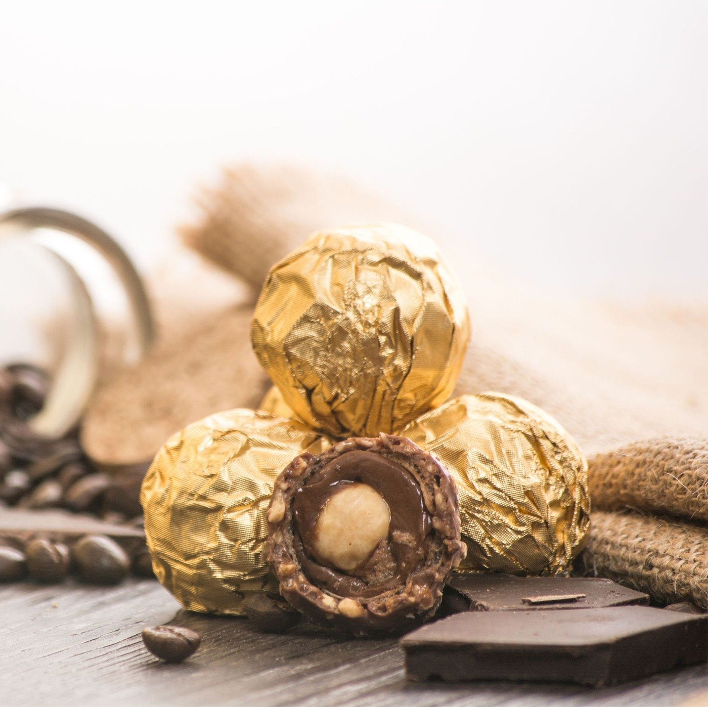 receta de Ferrero Rocher