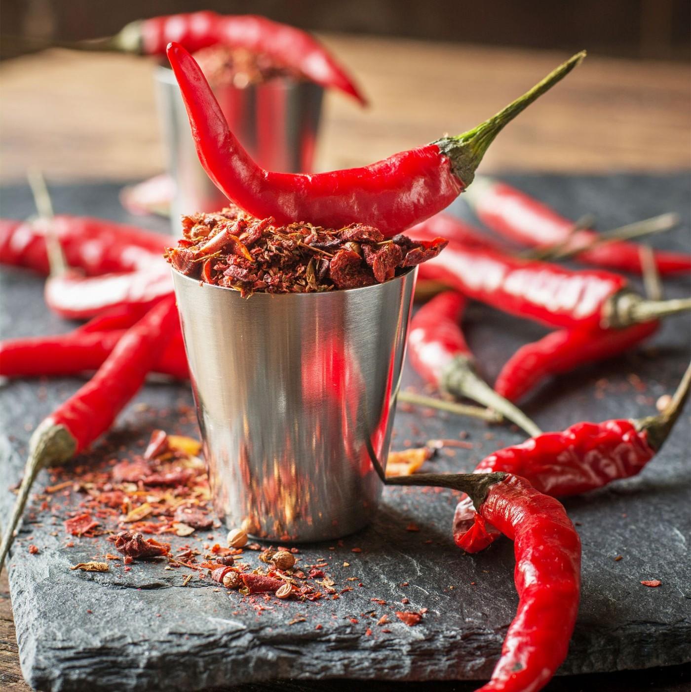 receta de Crema De Chile Picante Molido
