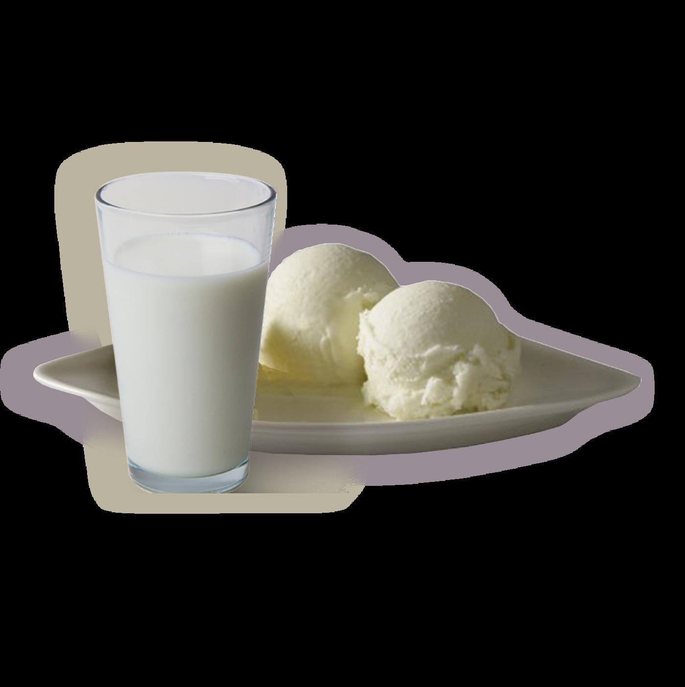 Helado de fior di latte