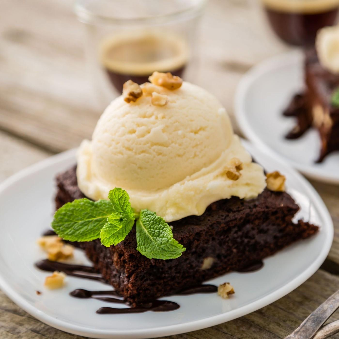 receta de Helado De Chocolate Blanco