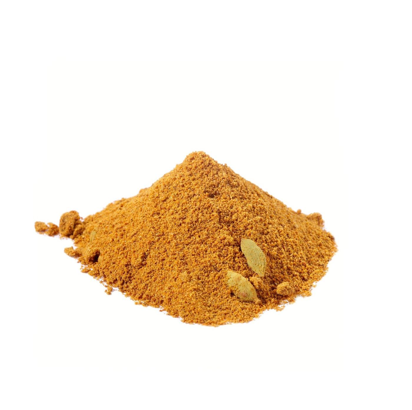 receta de Curry madras