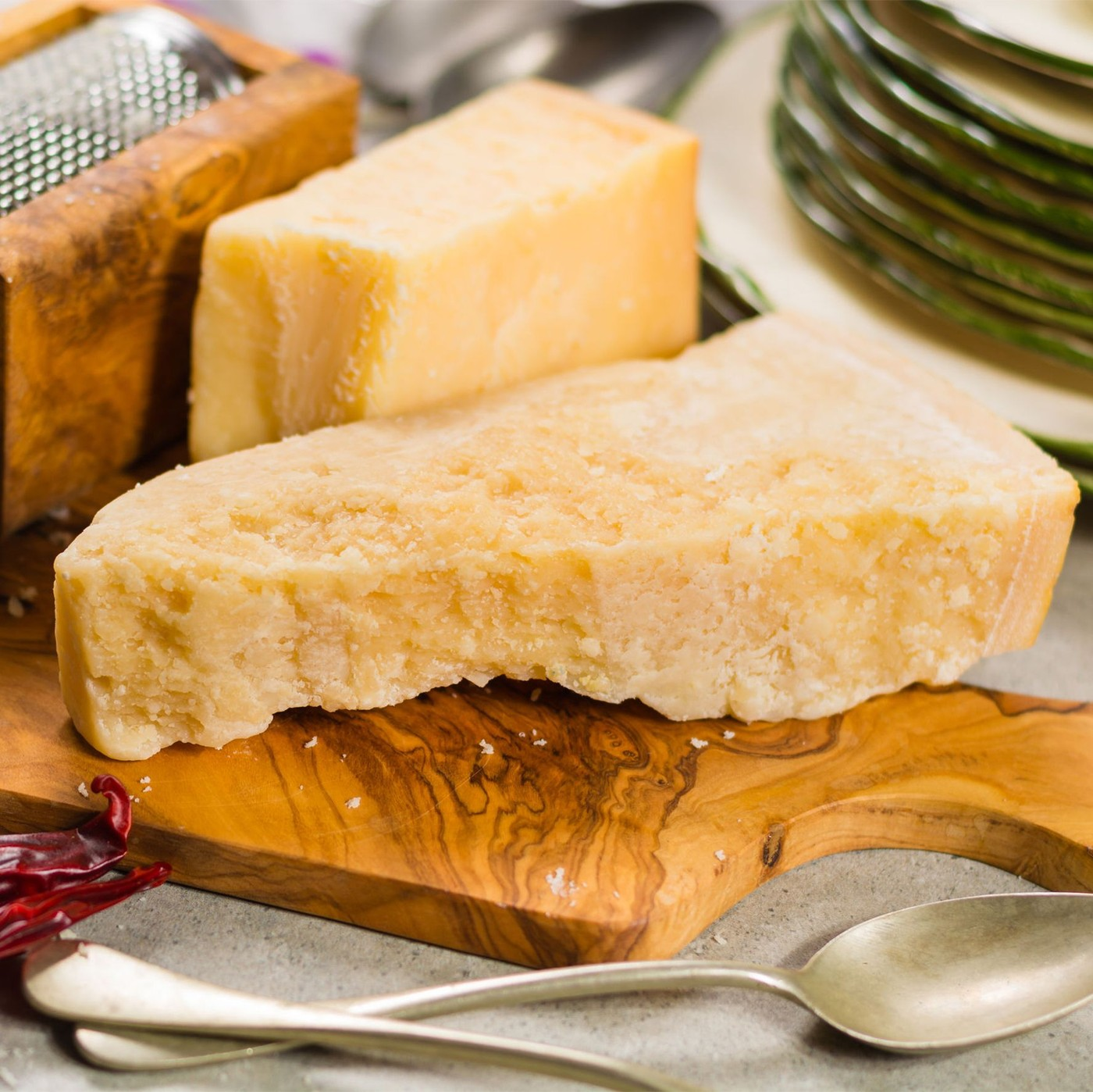 receta de Parmigiano reggiano dop 24 meses