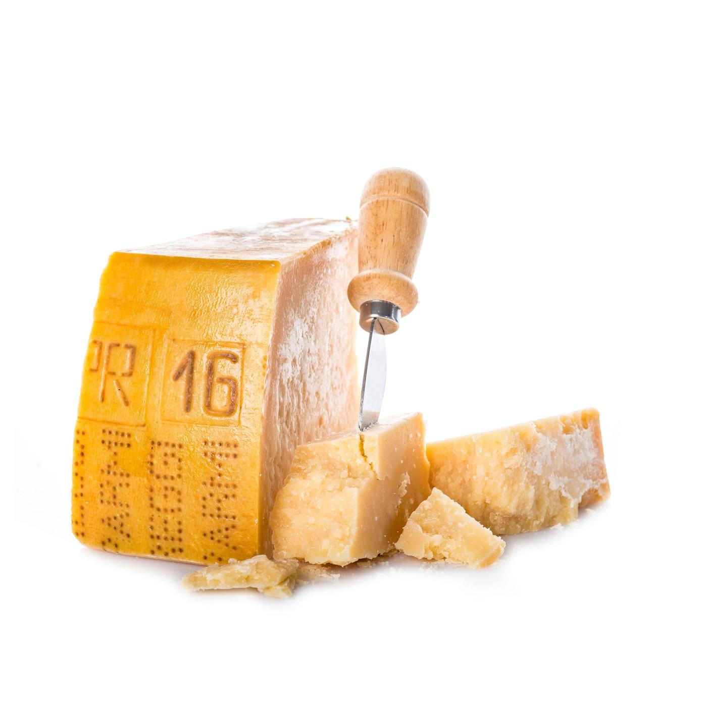 receta de Parmigiano Reggiano Dop De 18 Meses