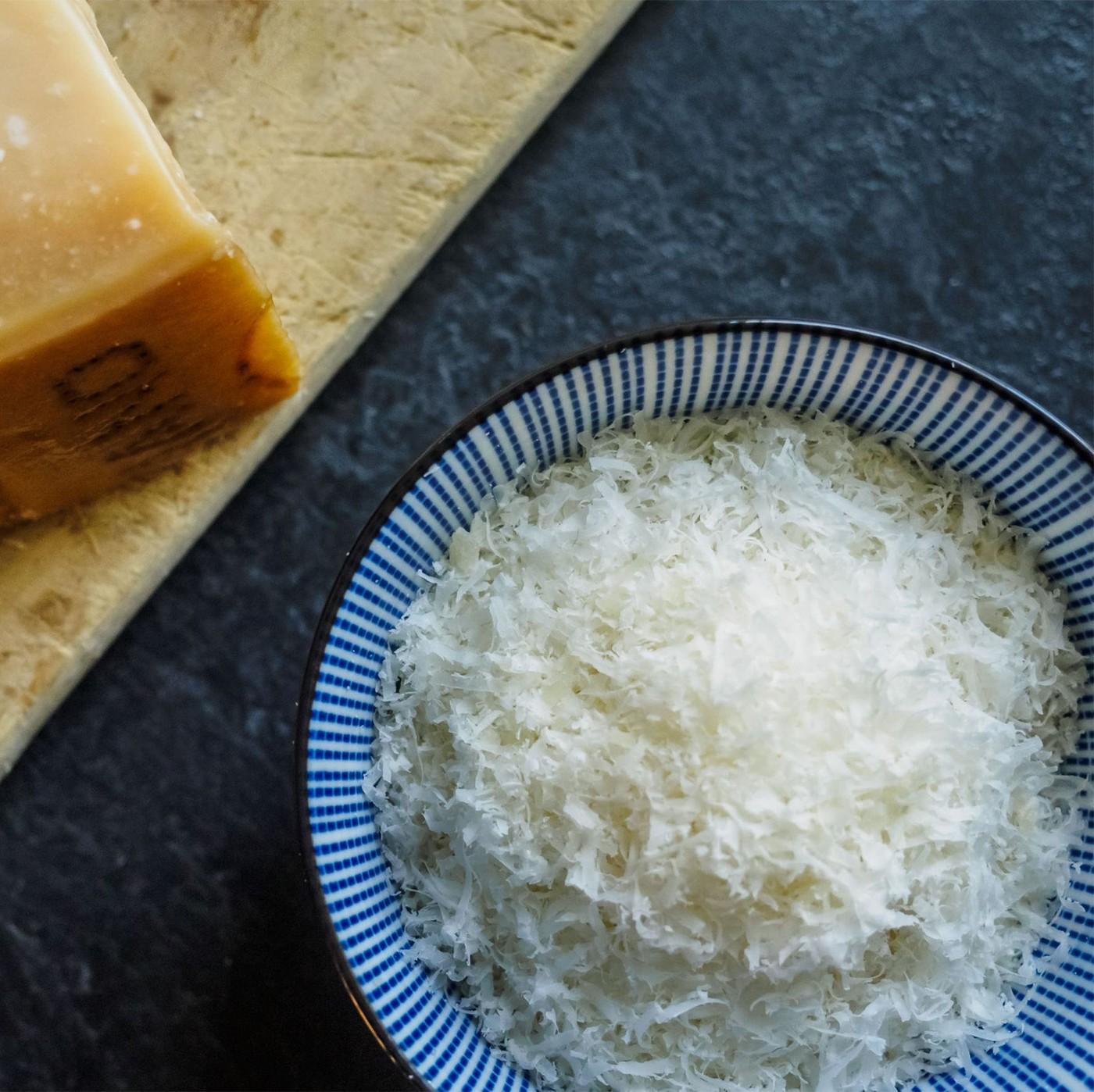 receta de Parmigiano Reggiano Dop De 12 Meses Rallado