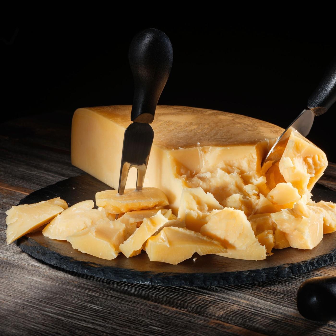 receta de Parmiggiano Regg. 1/2 For. Horizzontale 36m