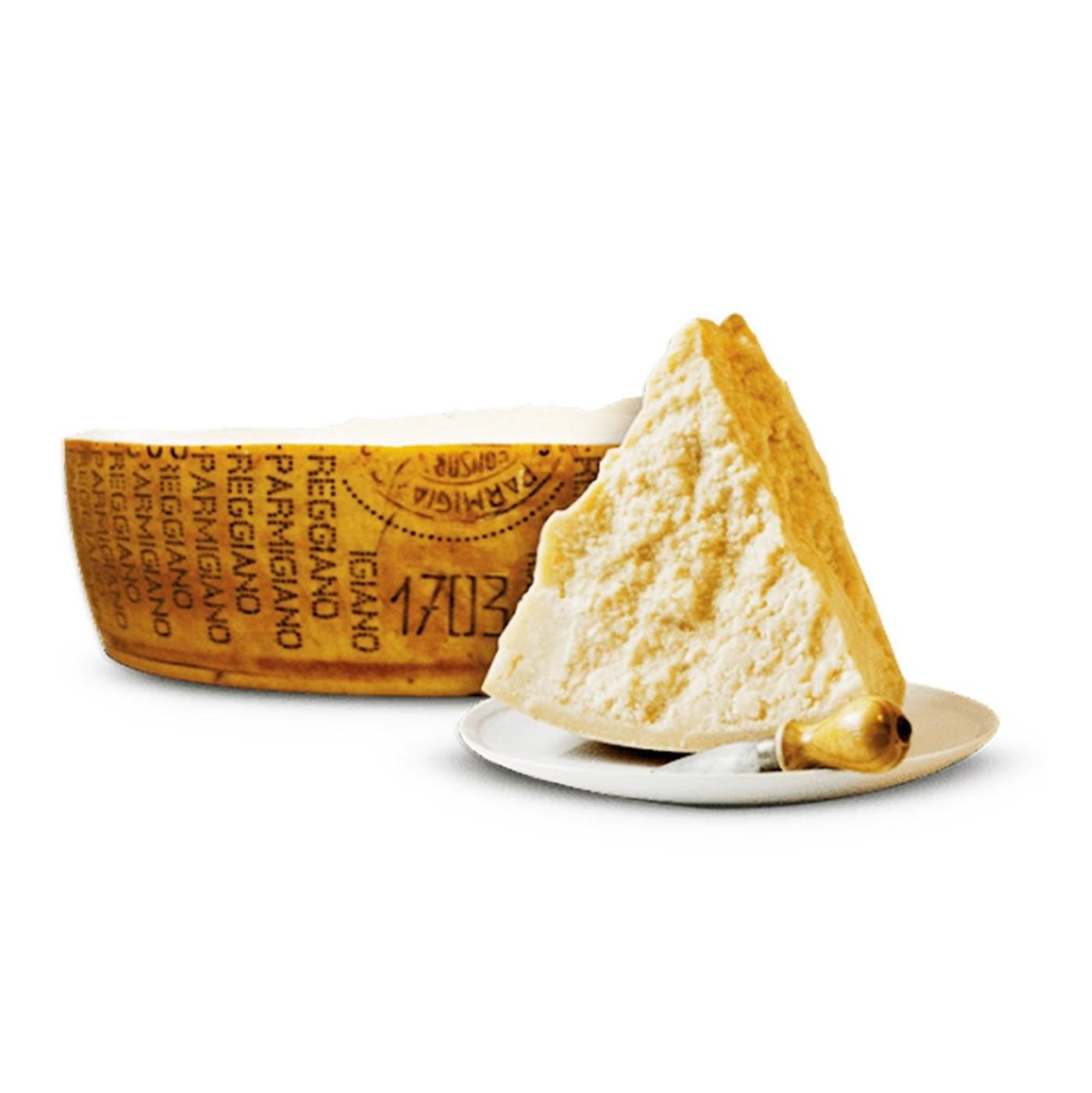 receta de Parmigiano Reggiano 22/23 Meses