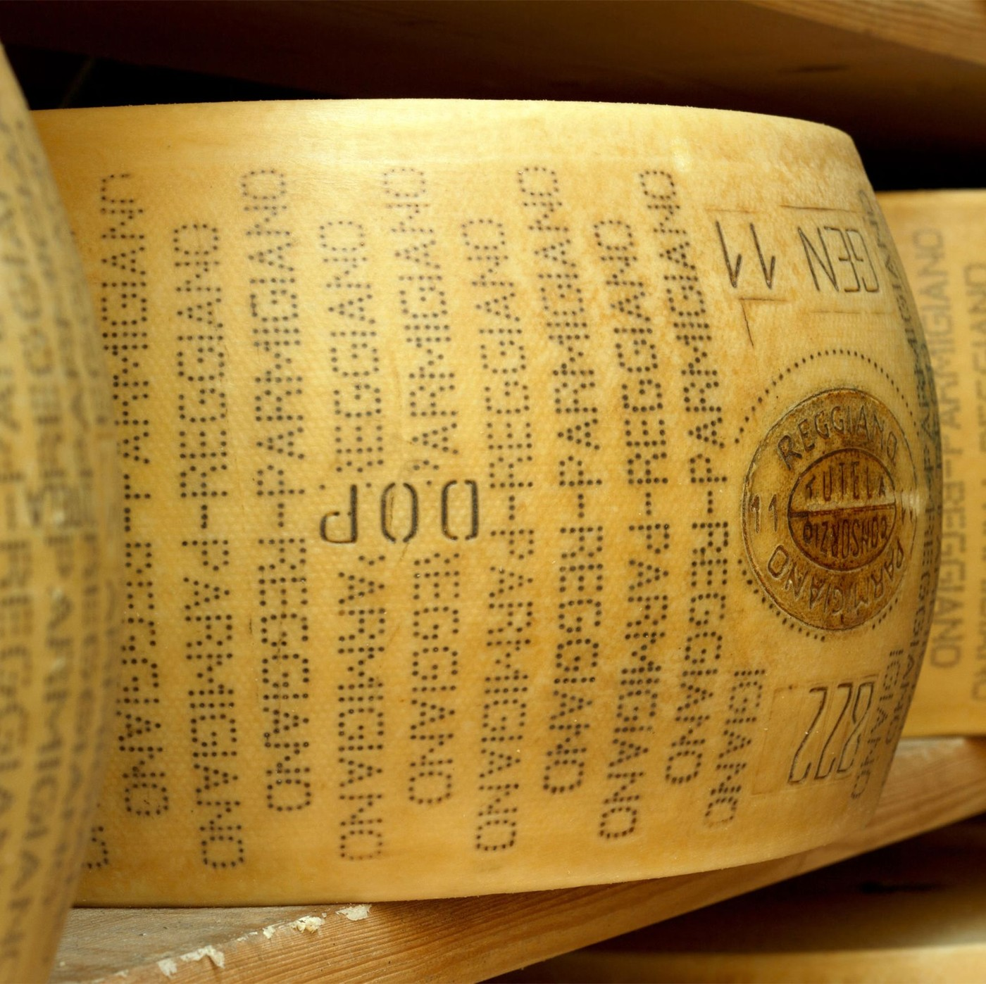 receta de Parmigiano Reggiano 22/23 Mesi Forma Intera
