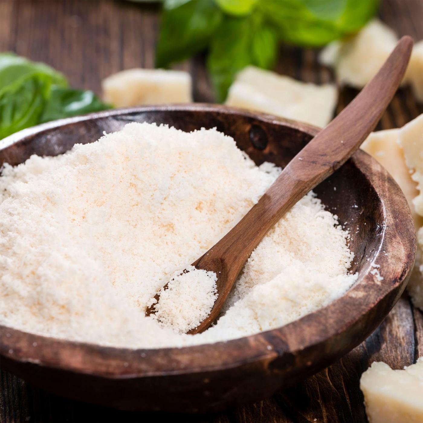 receta de Parmigiano reggiano dop rallado monoporción